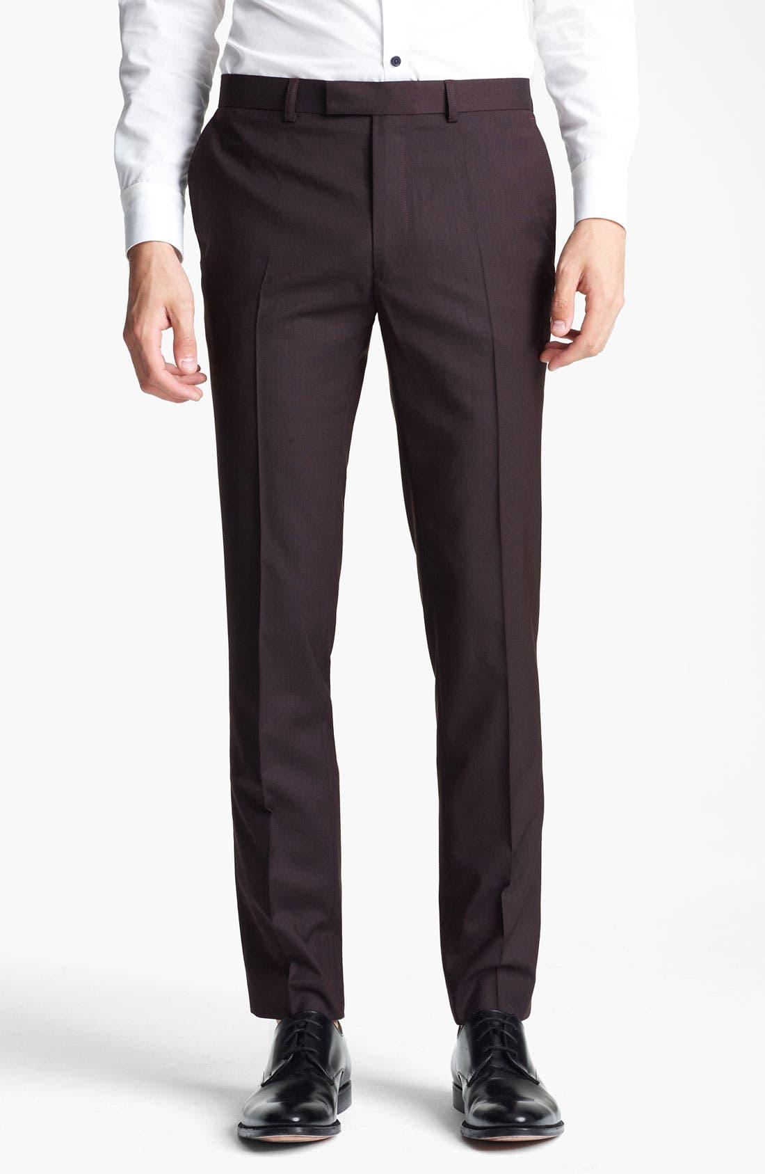 Alternate Image 1 Selected - Topman Skinny Trousers