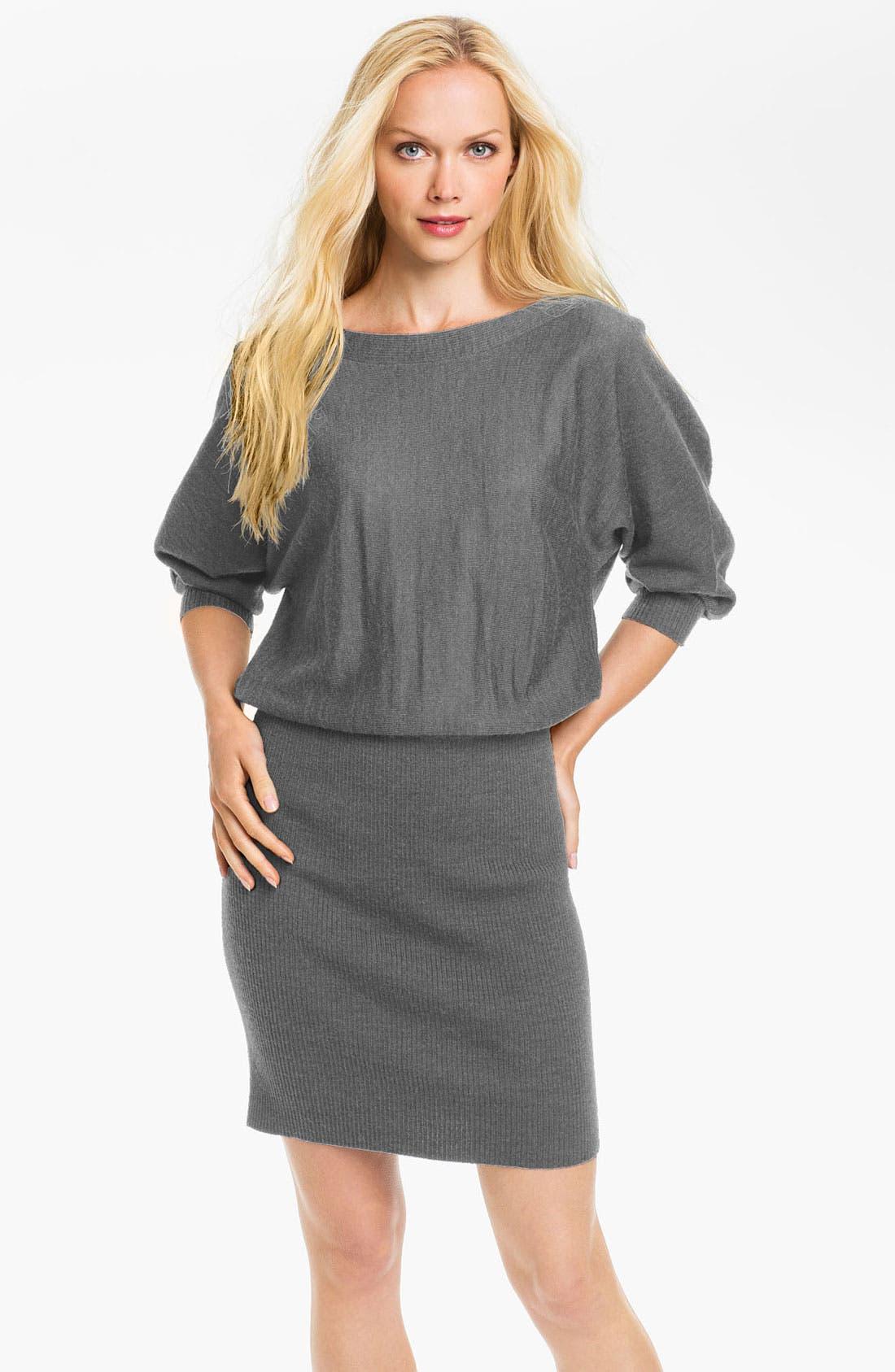 Alternate Image 1 Selected - Maggy London Blouson Sweater Dress