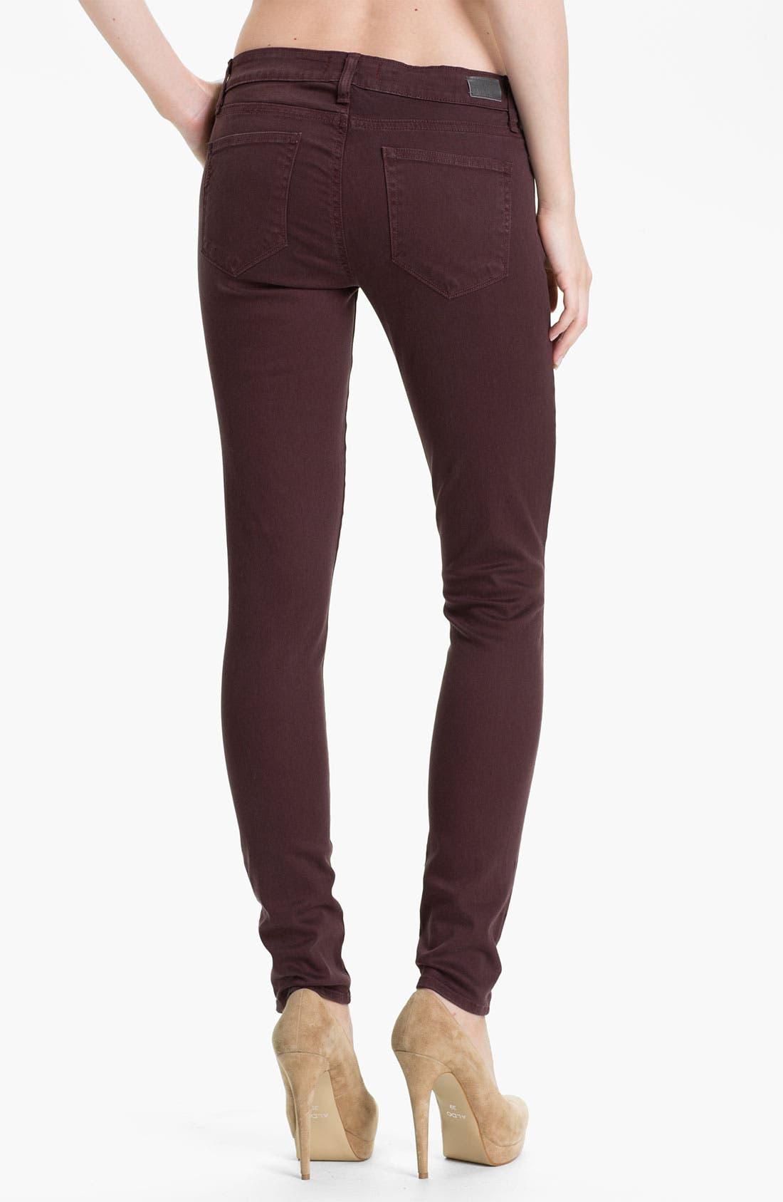 Alternate Image 2  - Paige Denim 'Verdugo' Skinny Stretch Denim Jeans (Pollock)