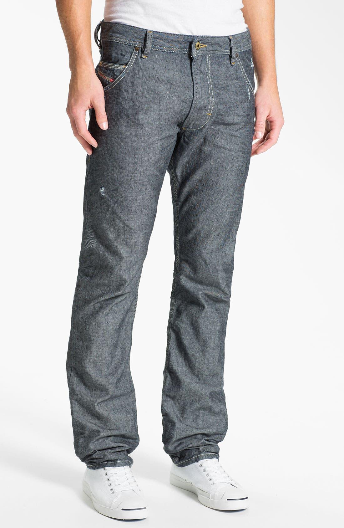 Alternate Image 2  - DIESEL® 'Safado' Straight Leg Jeans (0809D)