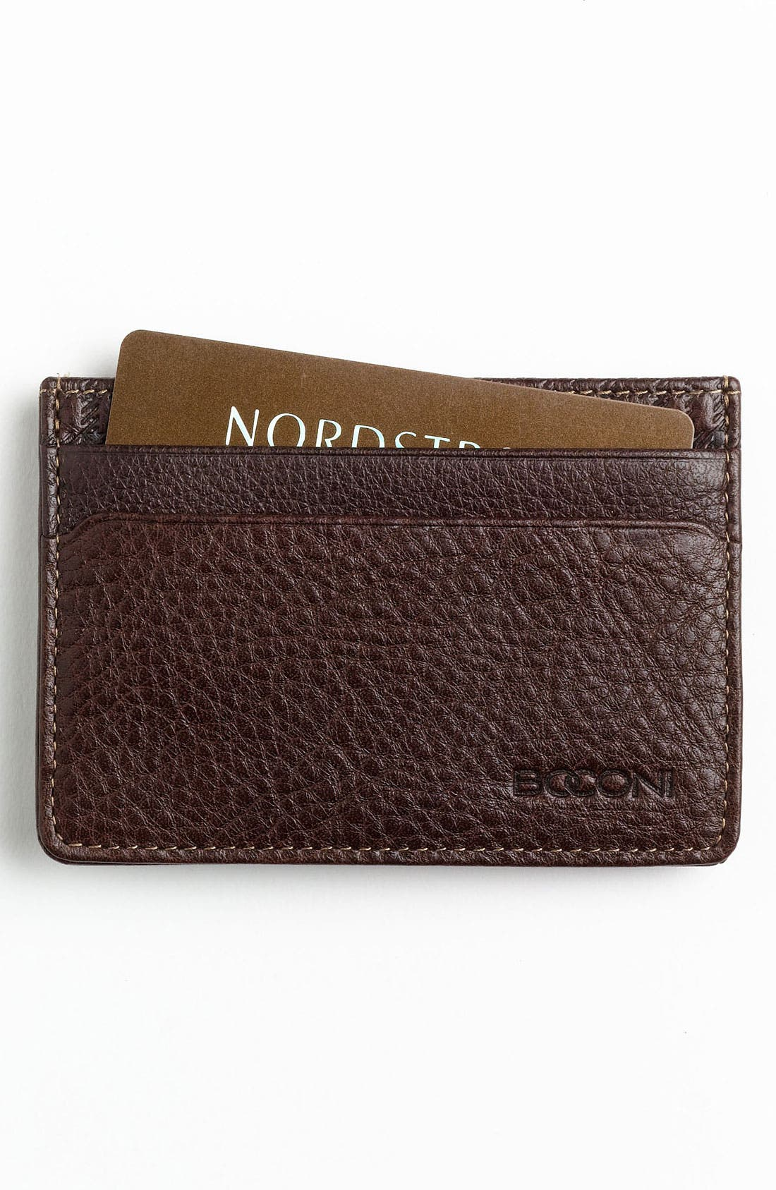 Main Image - Boconi Money Clip Card Case