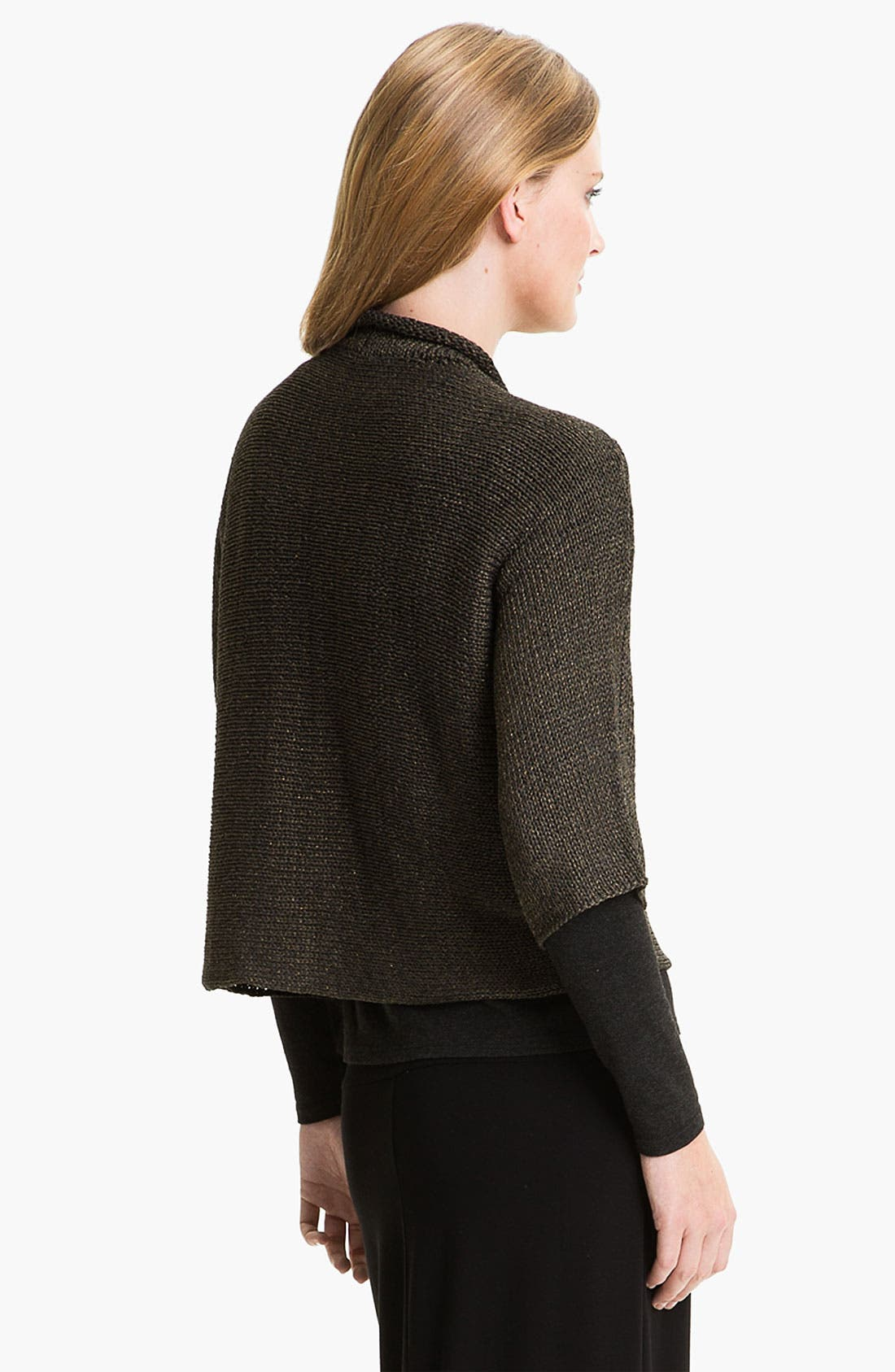 Alternate Image 2  - Eileen Fisher Open Front Cardigan