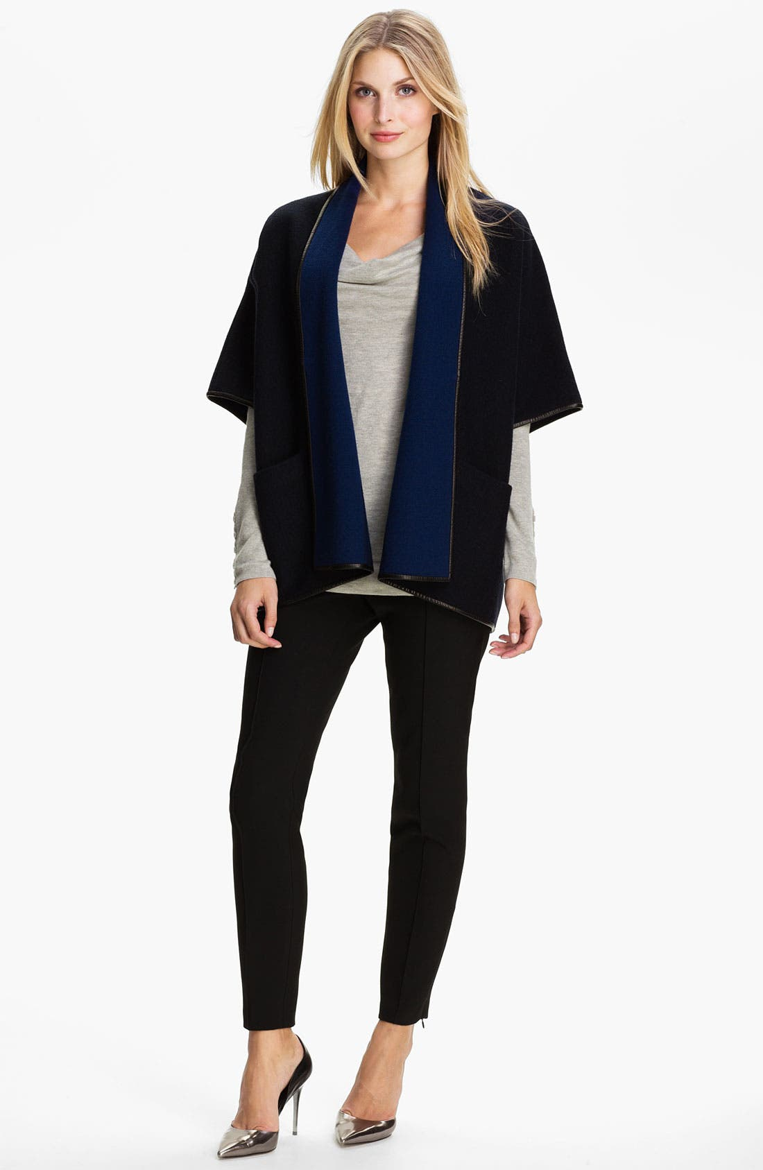 Alternate Image 4  - Classiques Entier® Boiled Wool Cardigan