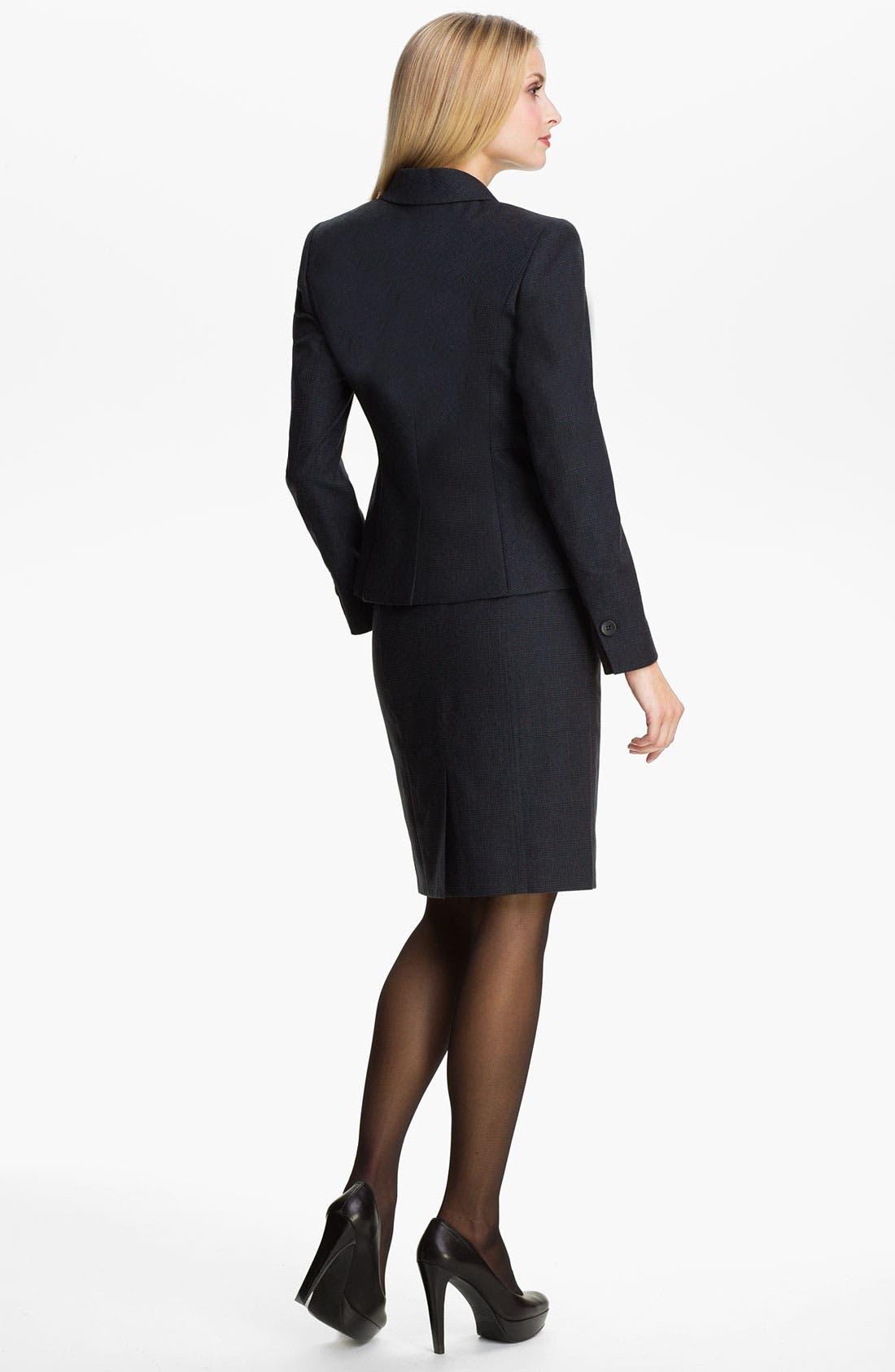 Alternate Image 5  - Classiques Entier® 'Adima Check' Jacket