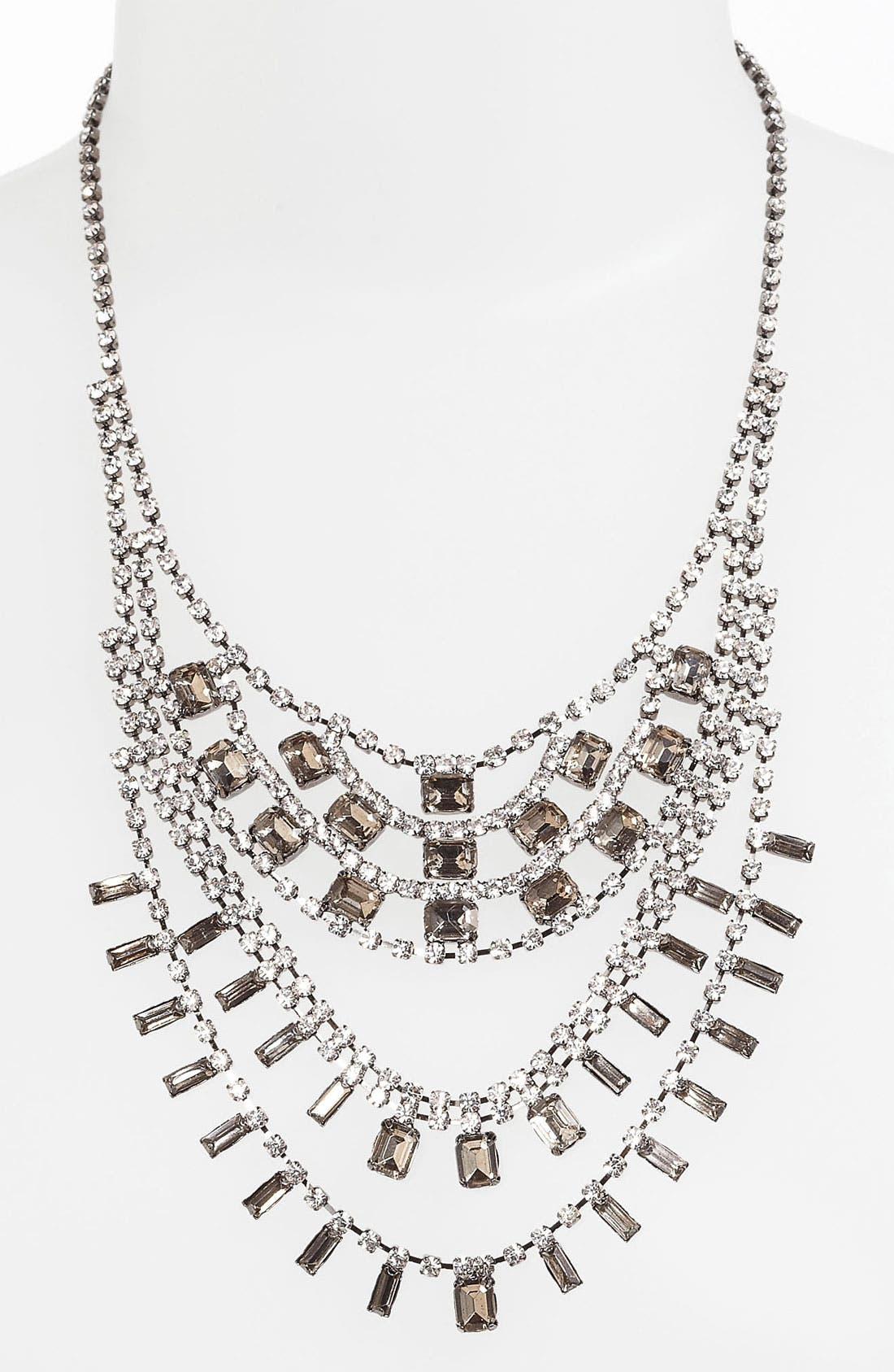 Main Image - BP. Vintage Rhinestone Bib Necklace