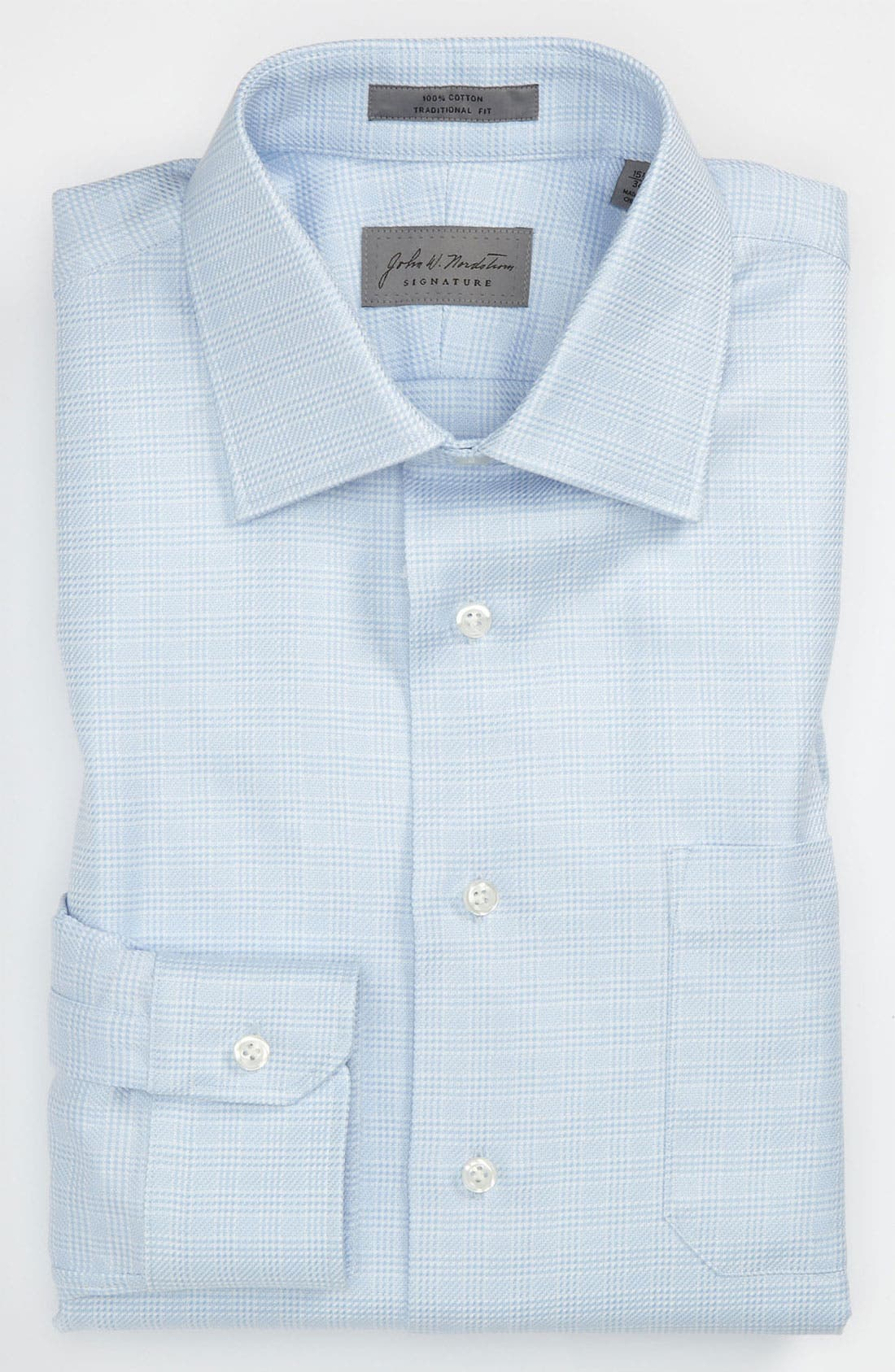 Main Image - John W. Nordstrom® Signature Traditional Fit Dress Shirt