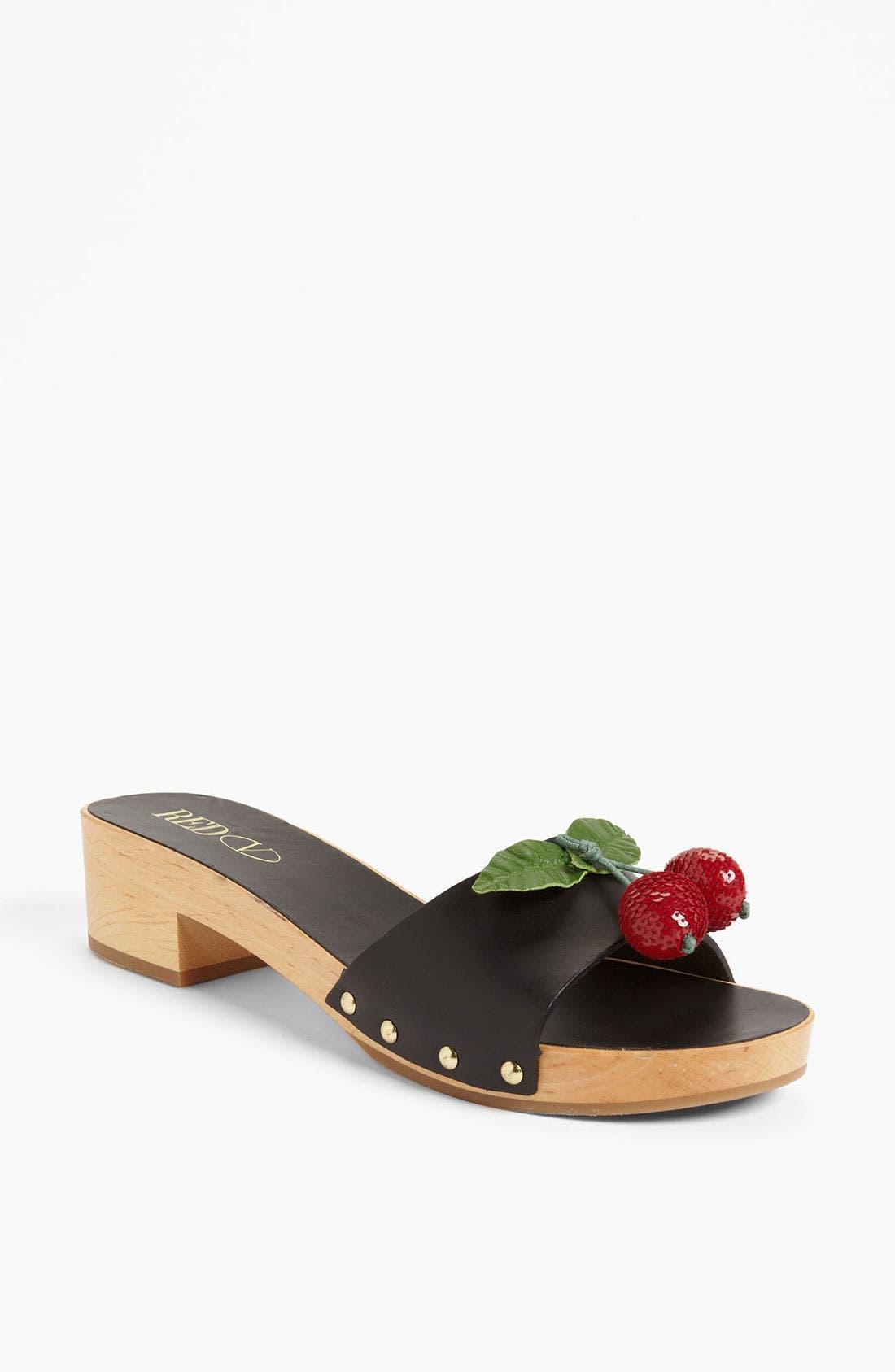 Alternate Image 1 Selected - RED Valentino 'Cherry' Sandal
