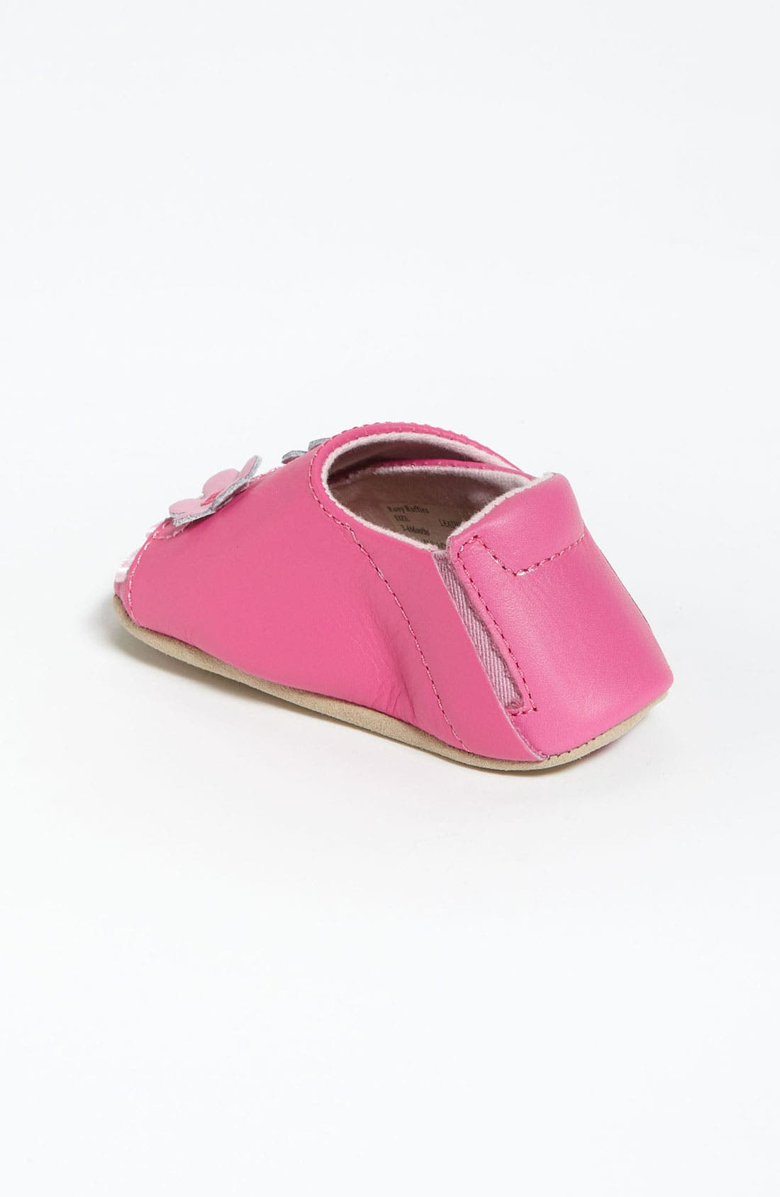Alternate Image 2  - Stride Rite 'Rosy Ruffles' Crib Shoe (Baby)