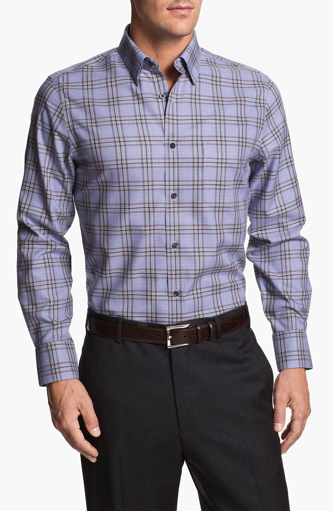 Main Image - Nordstrom Regular Fit Twill Sport Shirt