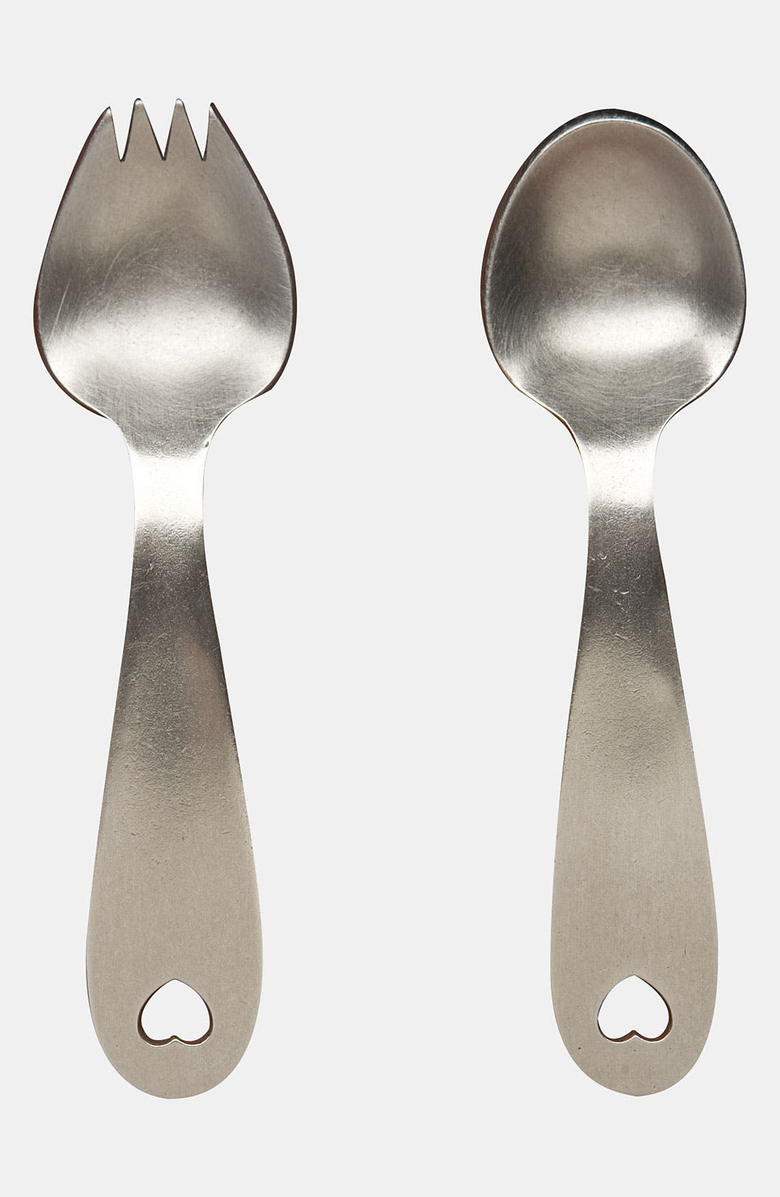 Main Image - Beehive Kitchenware 'Heart' Keepsake Spoon & Fork