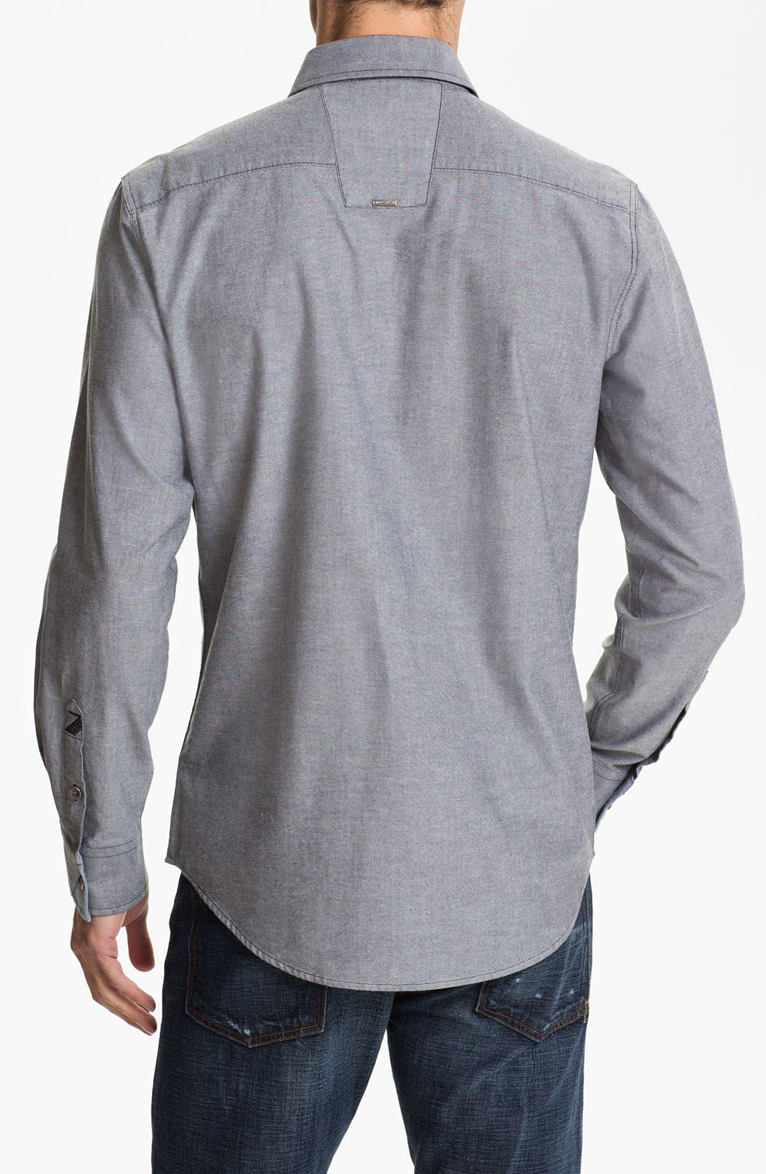 Alternate Image 2  - 7 Diamonds 'Time To Lounge' Trim Fit Long Sleeve Shirt