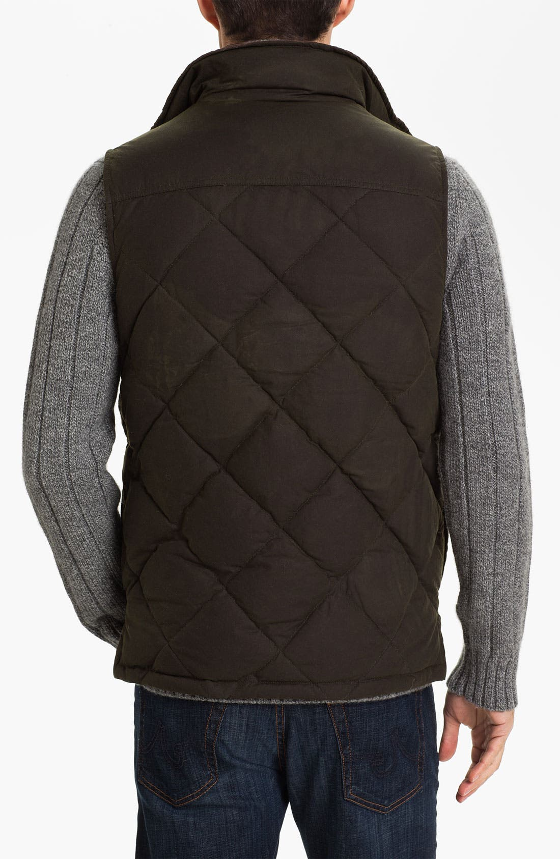Alternate Image 2  - Barbour Quilted Feather Vest