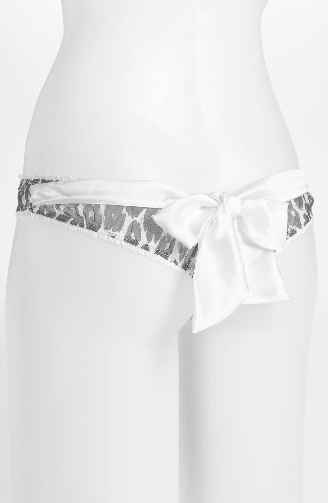 Alternate Image 2  - Mimi Holliday 'Mimi L'Amour' Bow Thong