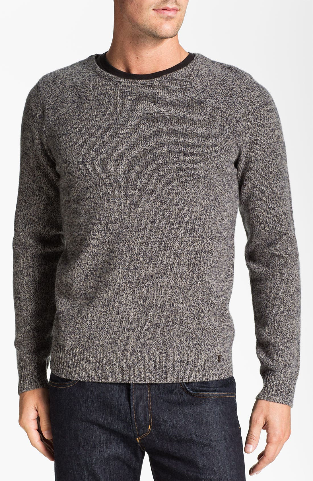 Alternate Image 1 Selected - Façonnable Crewneck Wool Sweater