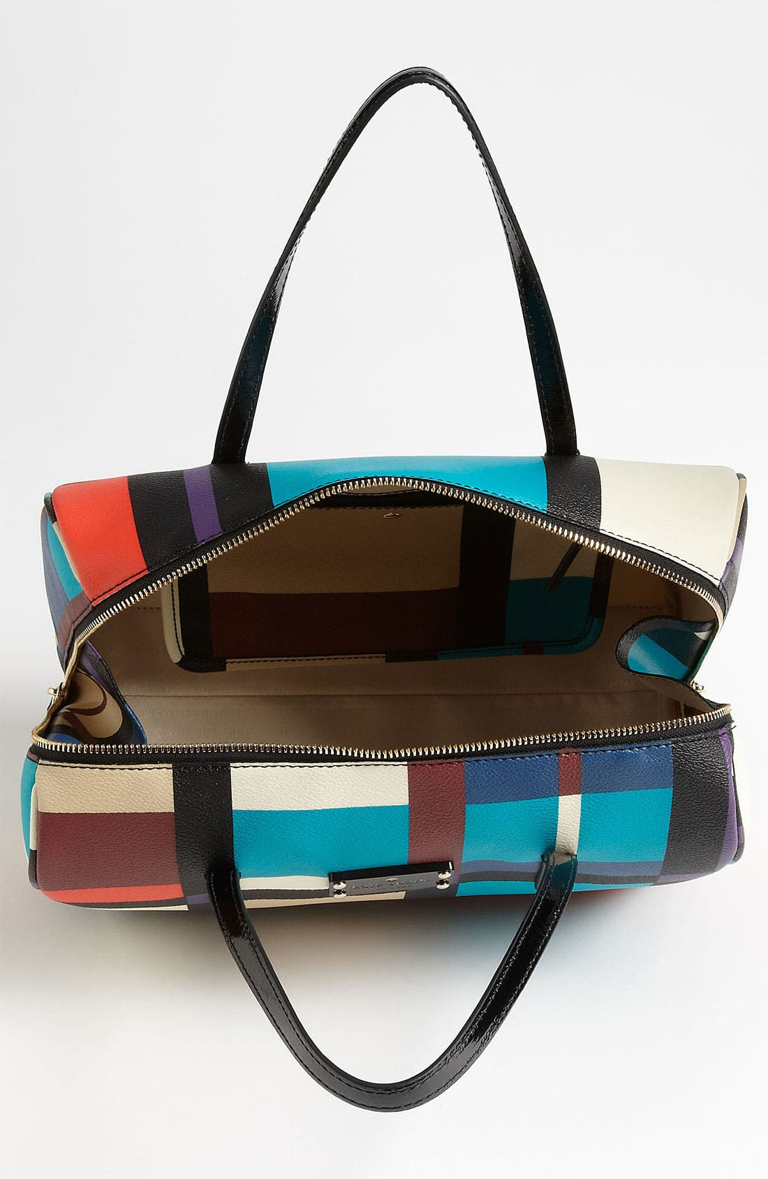 Alternate Image 3  - kate spade new york 'perry street plaid - shawna' satchel