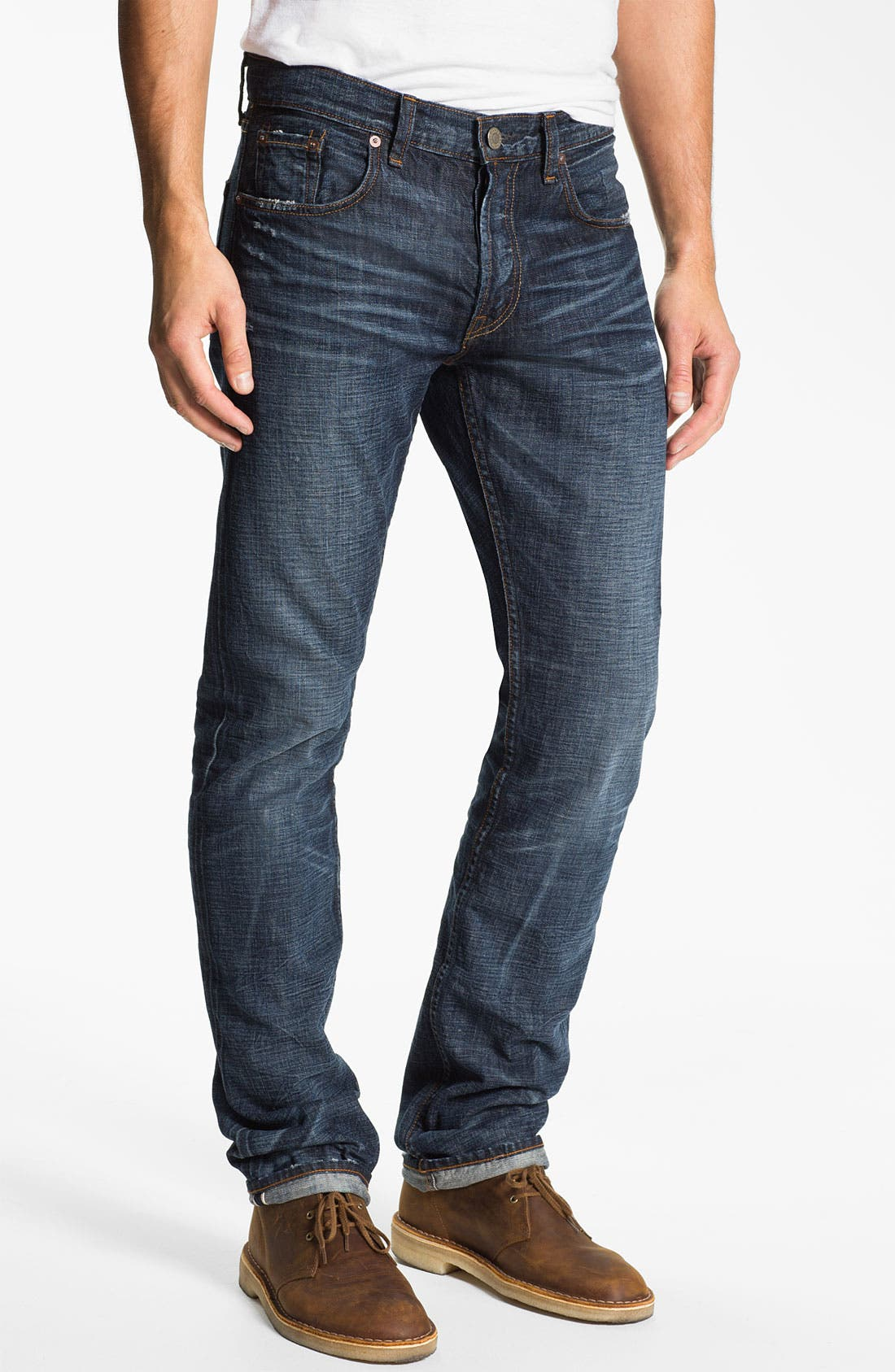 Alternate Image 1 Selected - J Brand 'Kane' Slim Straight Leg Jeans (Memento)