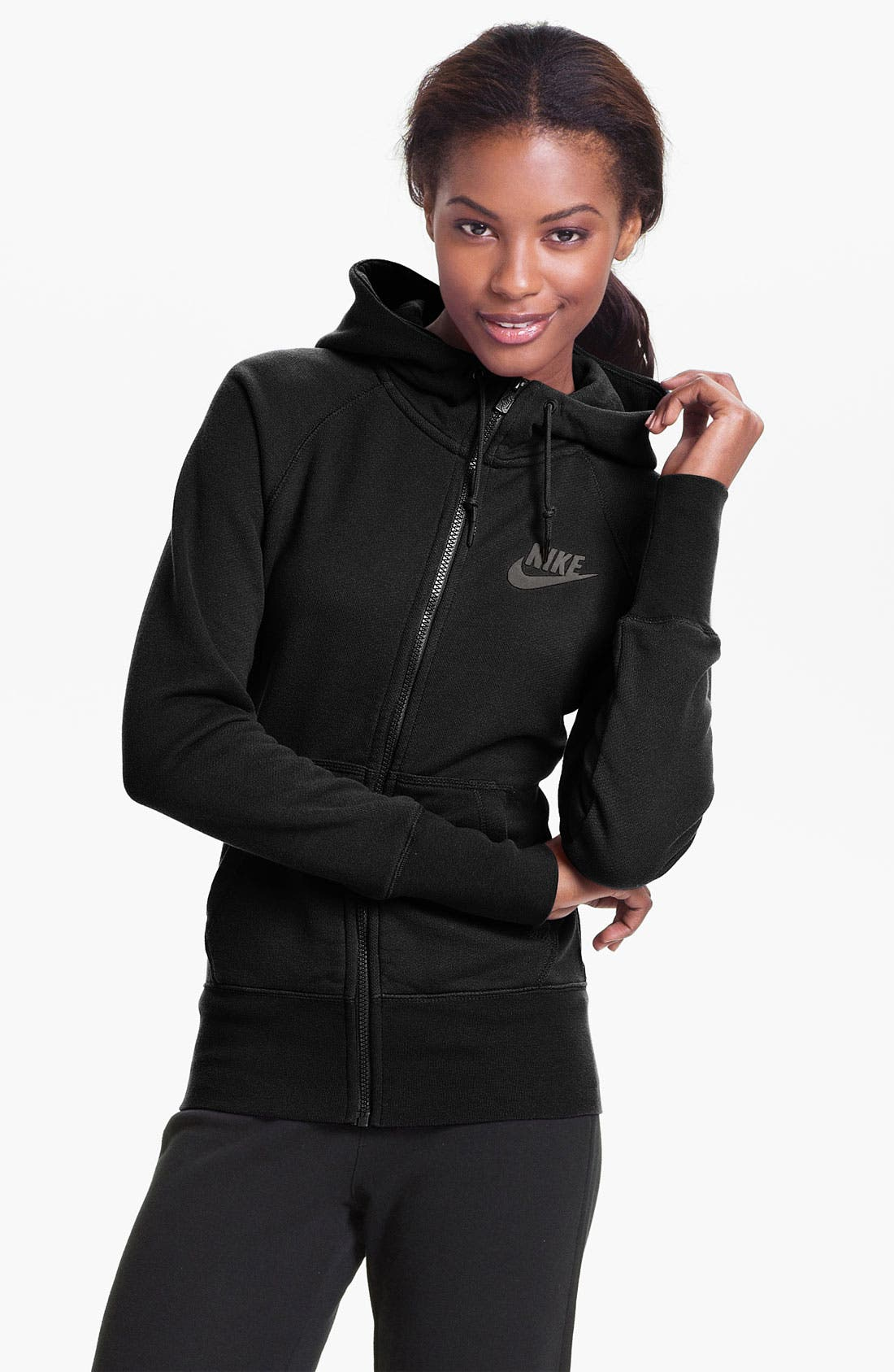 Alternate Image 1 Selected - Nike 'HBR' Full Zip Hoodie