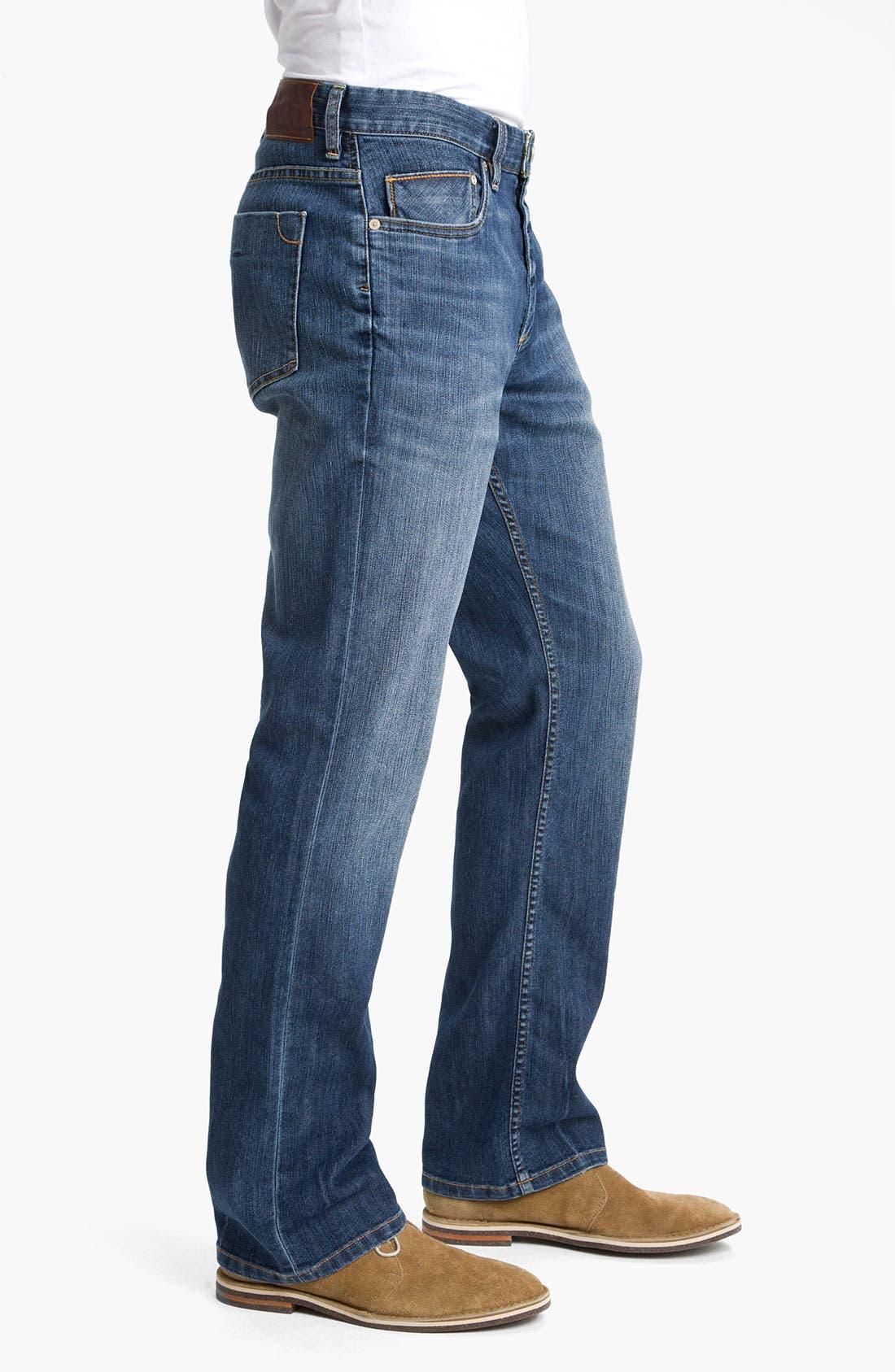 Alternate Image 3  - Tommy Bahama Denim 'Kingsly' Standard Fit Straight Leg Jeans (Medium Coastal)