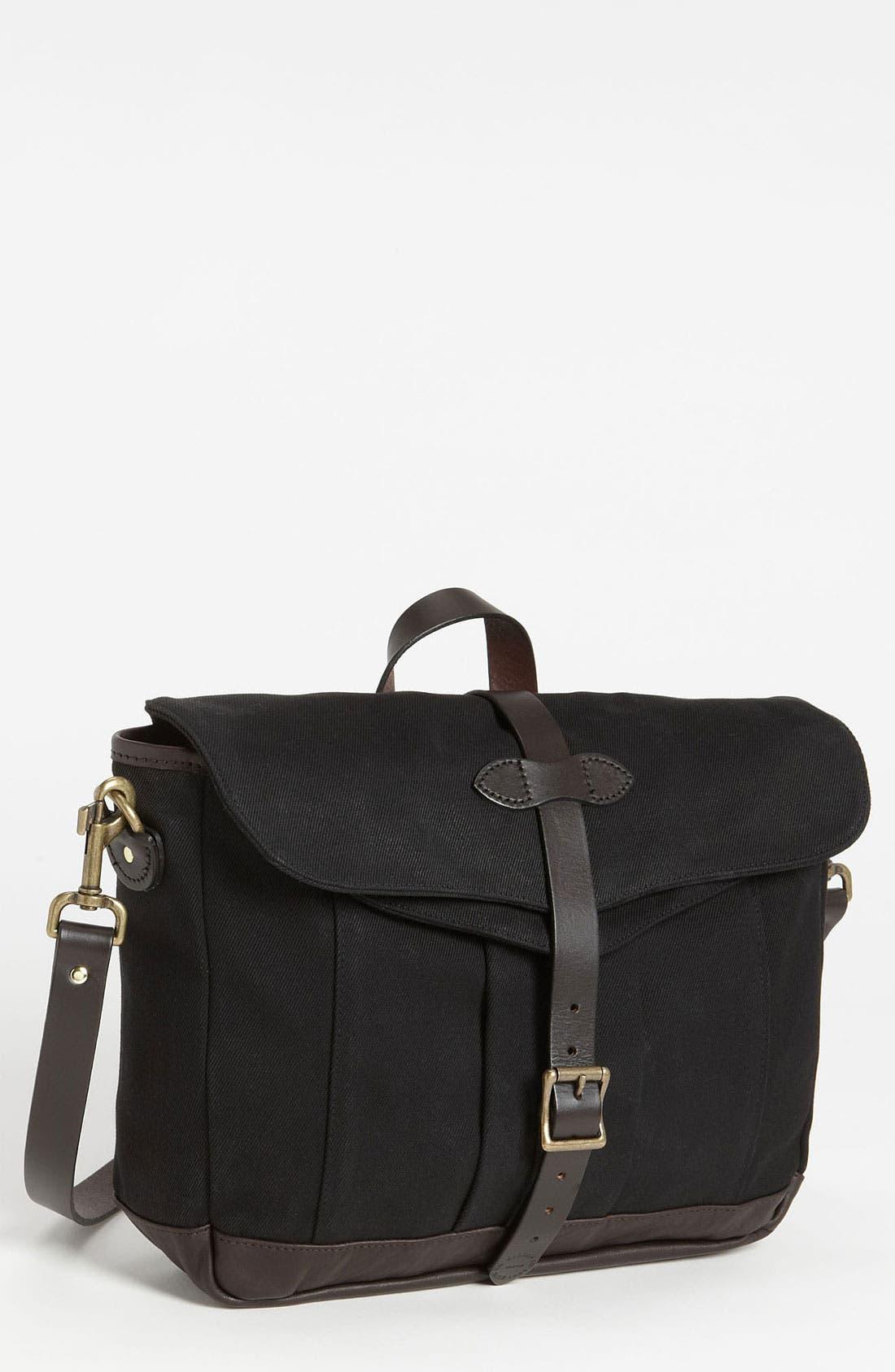 Alternate Image 1 Selected - Filson Twill Messenger Bag