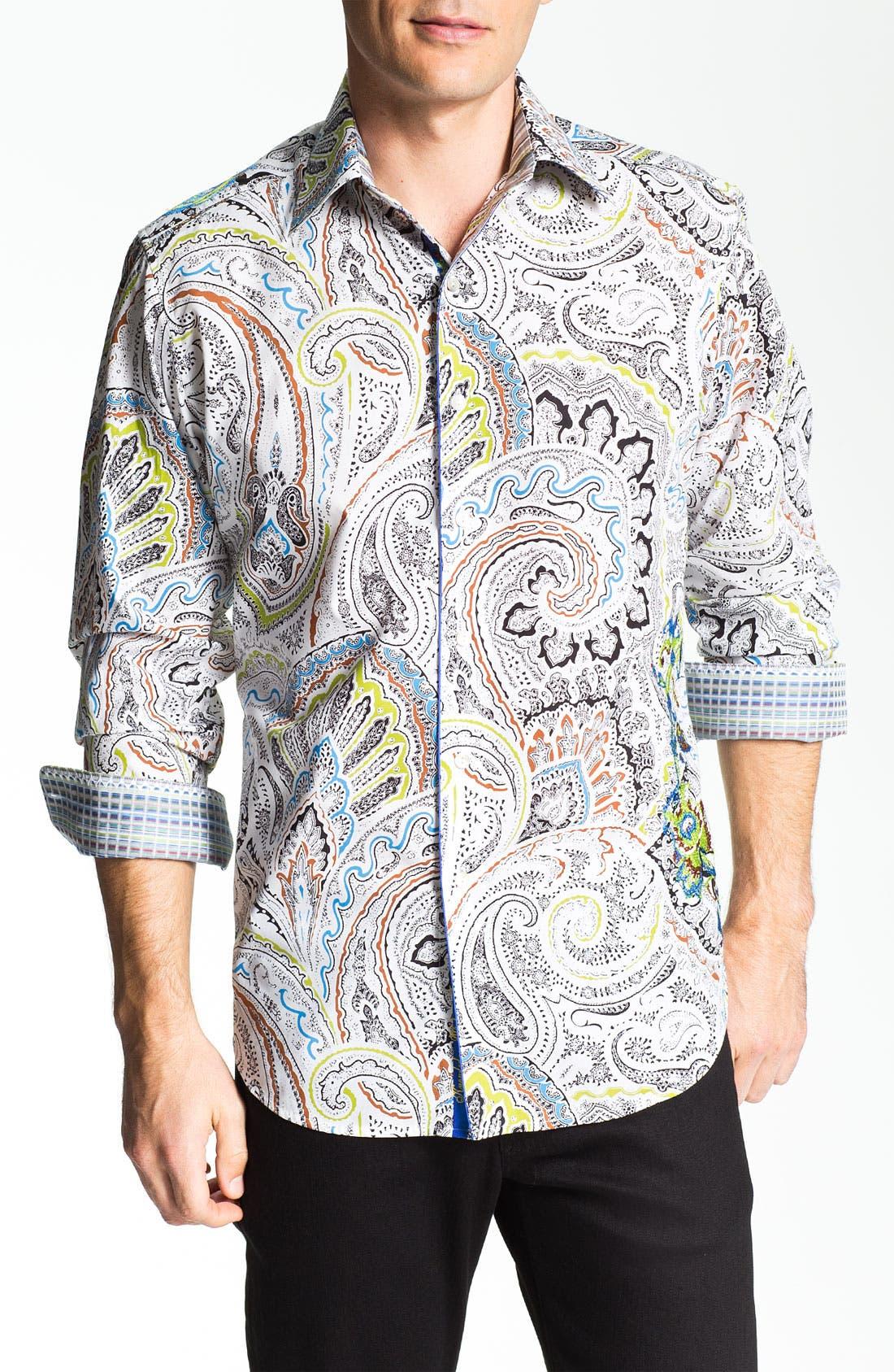 Alternate Image 1 Selected - Robert Graham 'Brig' Sport Shirt