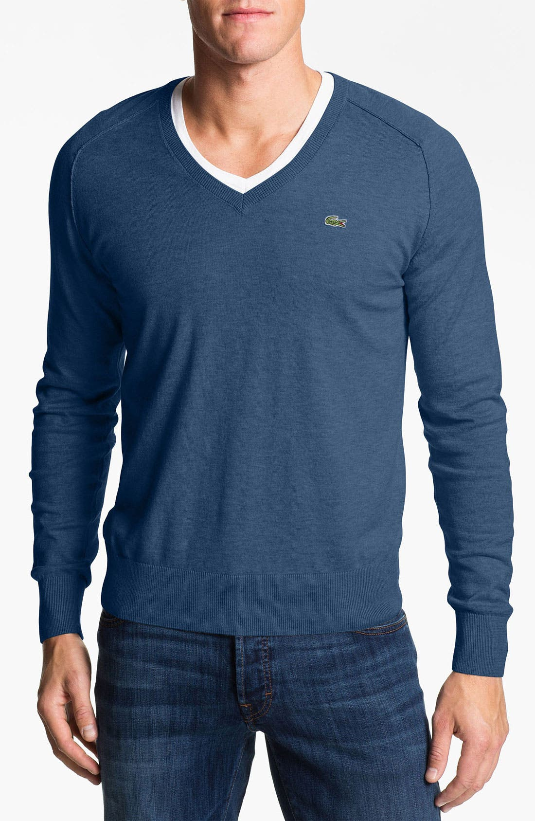 Main Image - Lacoste V-Neck Sweater