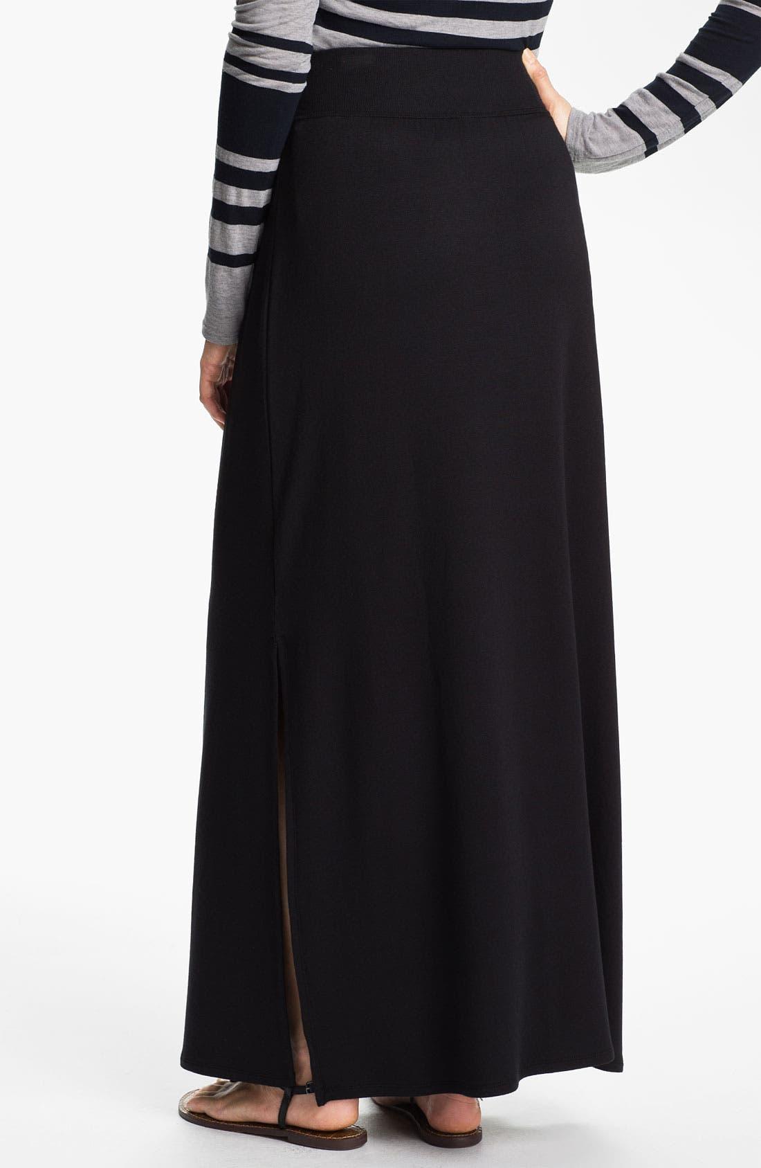 Alternate Image 2  - Caslon® Knit Maxi Skirt