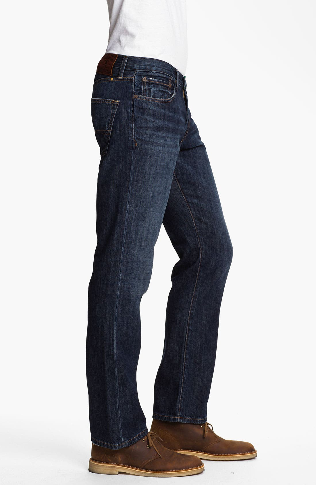Alternate Image 3  - Lucky Brand '221 Original' Straight Leg Jeans (Capistrano)
