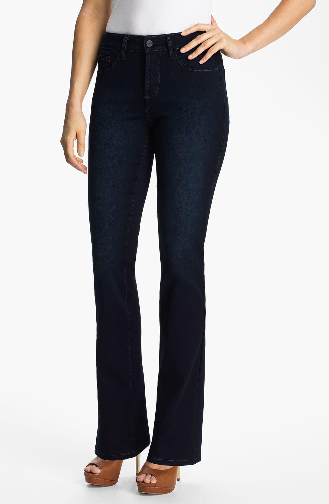 Alternate Image 1 Selected - NYDJ 'Barbara' Bootcut Jeans (Long)
