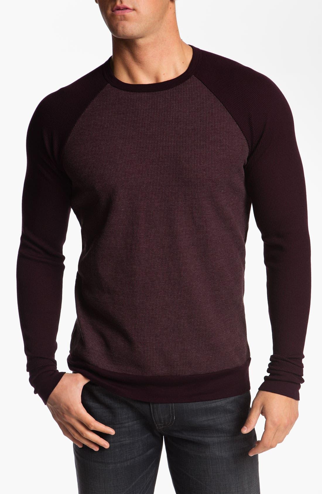 Alternate Image 1 Selected - Splendid Mills 'Slater' Raglan Sleeve Thermal Shirt