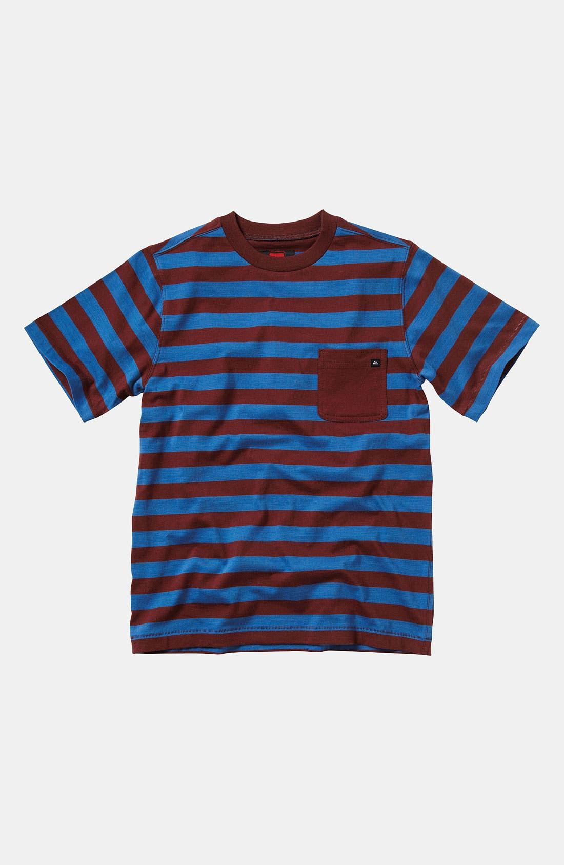 Main Image - Quiksilver 'Nolf' Crewneck T-Shirt (Big Boys)