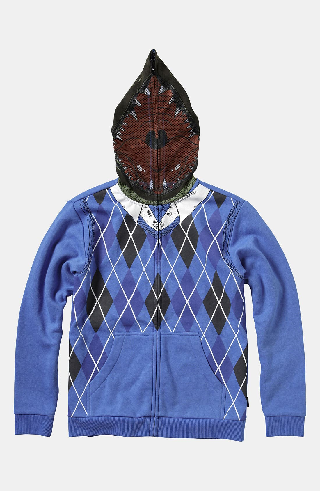 Alternate Image 1 Selected - Quiksilver 'Irony' Mask Hoodie (Big Boys)