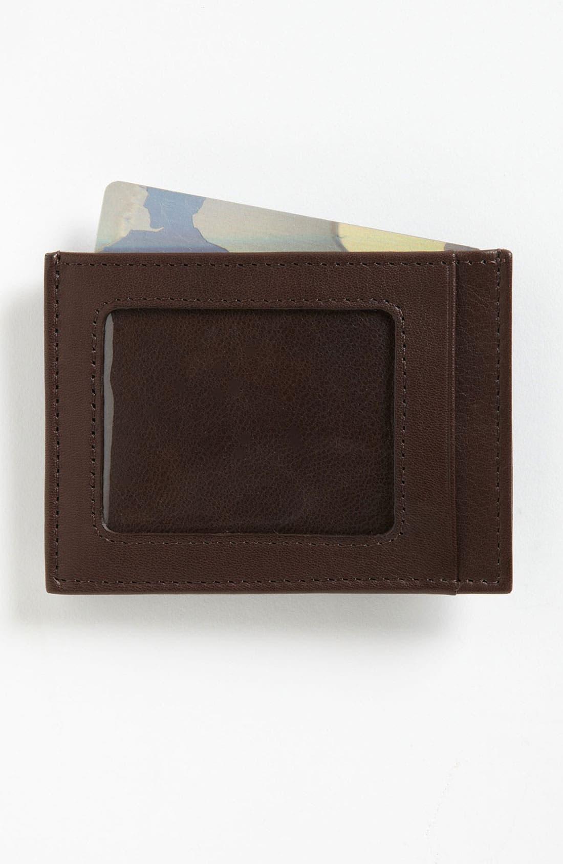 Main Image - Trafalgar 'Alicante' Money Clip Wallet