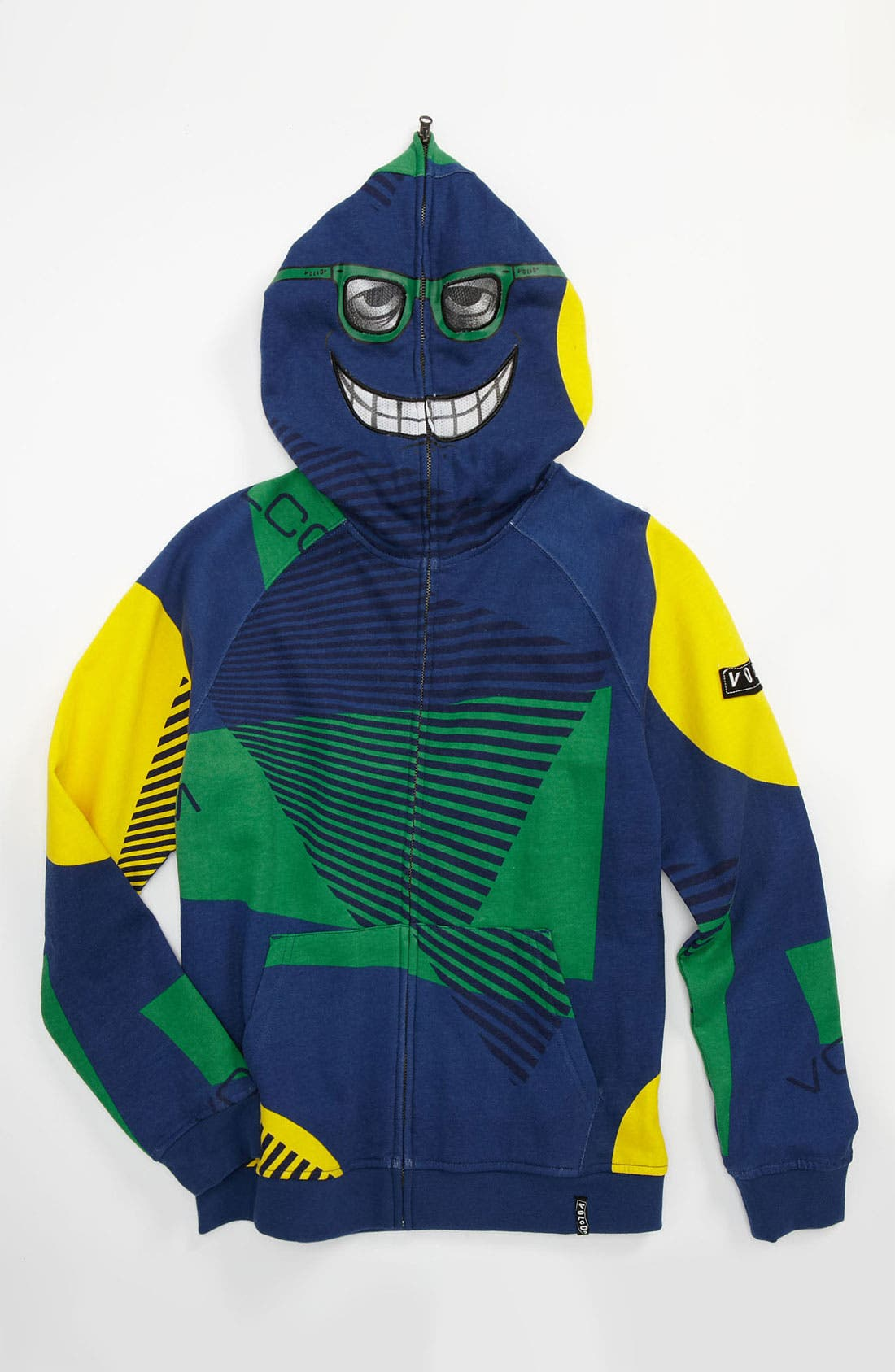 Alternate Image 1 Selected - Volcom 'Vacation' Mask Hoodie (Big Boys)