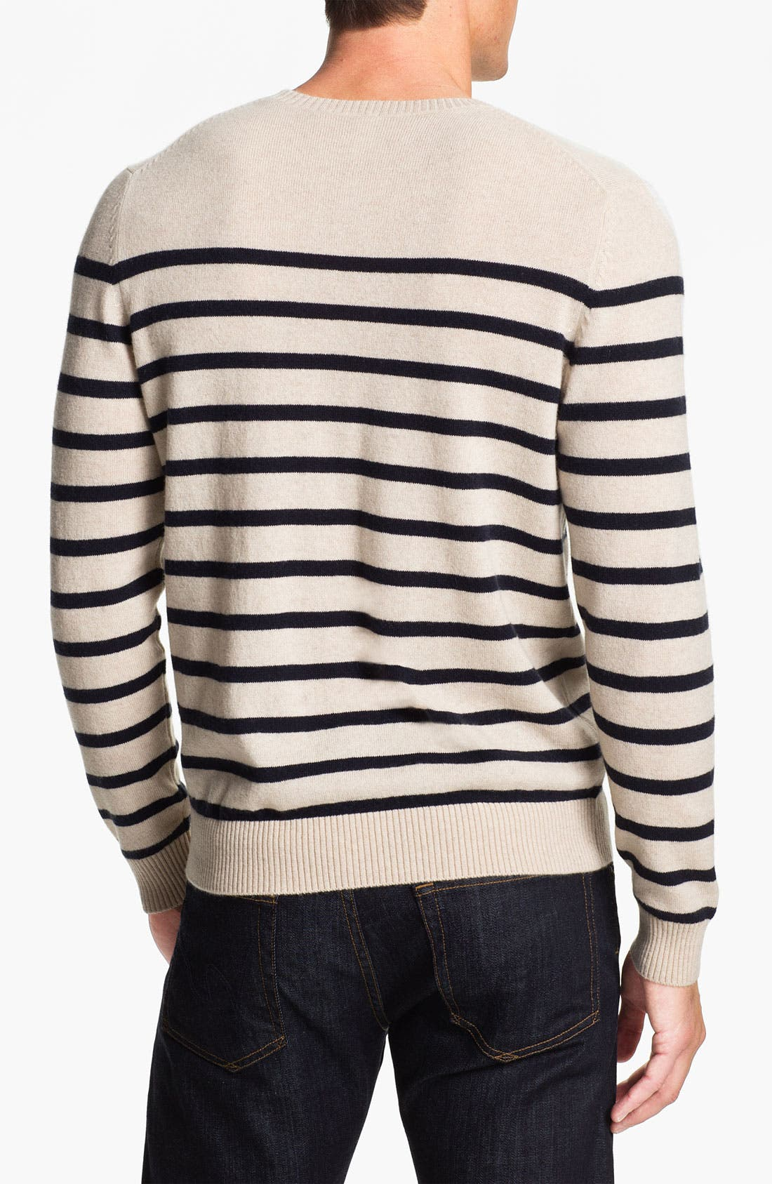 Alternate Image 2  - Cullen89 Cashmere Crewneck Sweater