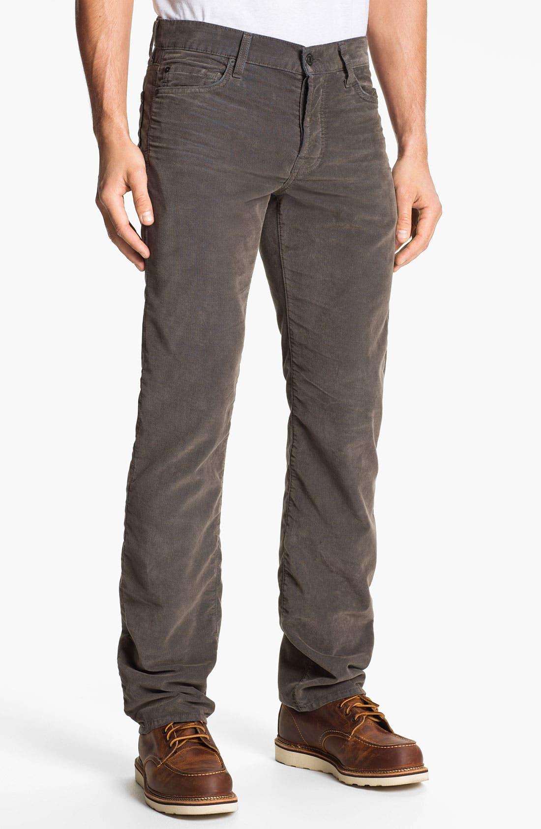 Alternate Image 2  - 7 For All Mankind® 'Standard' Straight Leg Pants