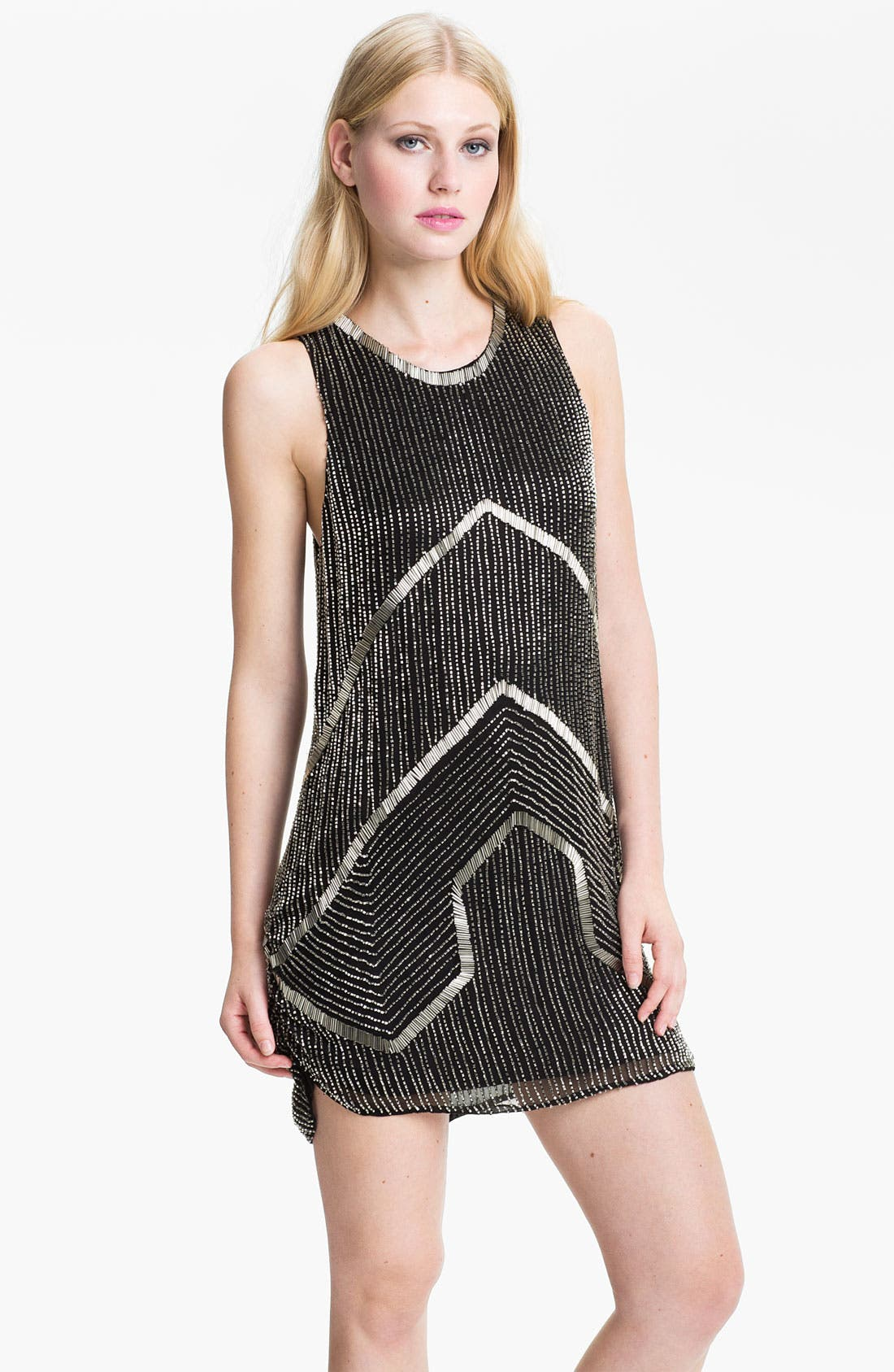 Alternate Image 1 Selected - Parker Embellished Shift Dress