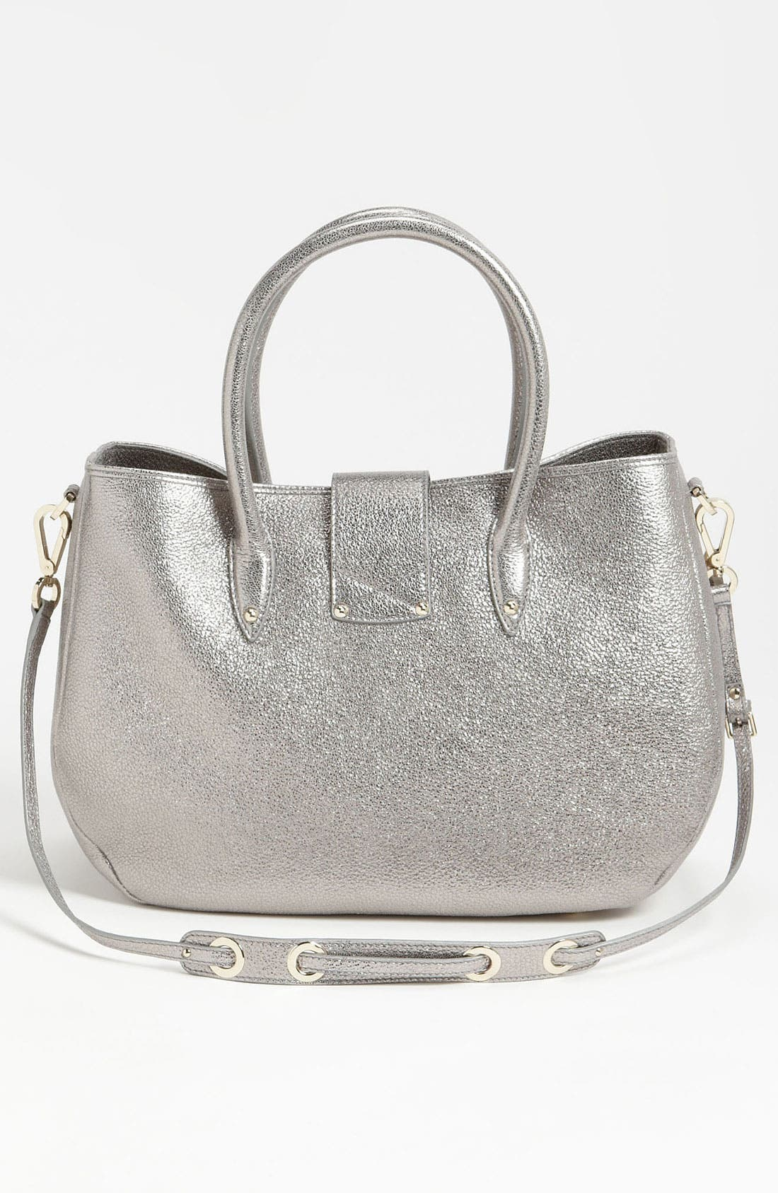 Alternate Image 4  - Jimmy Choo 'Rania' Glitter Leather Satchel