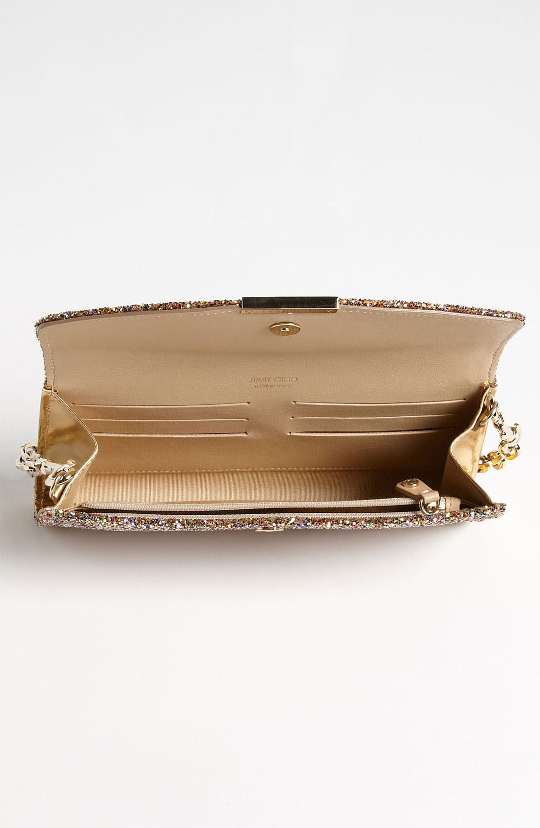 Alternate Image 3  - Jimmy Choo 'Riane' Glitter Clutch