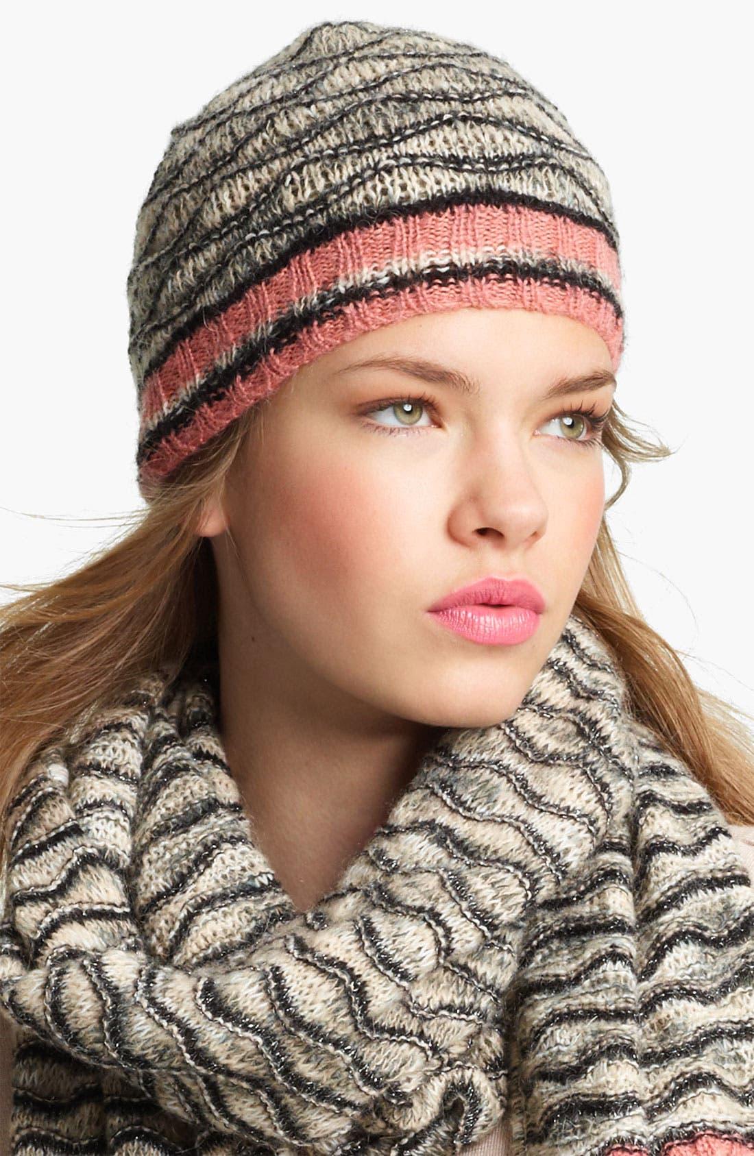 Alternate Image 1 Selected - Missoni Mohair Blend Knit Cap