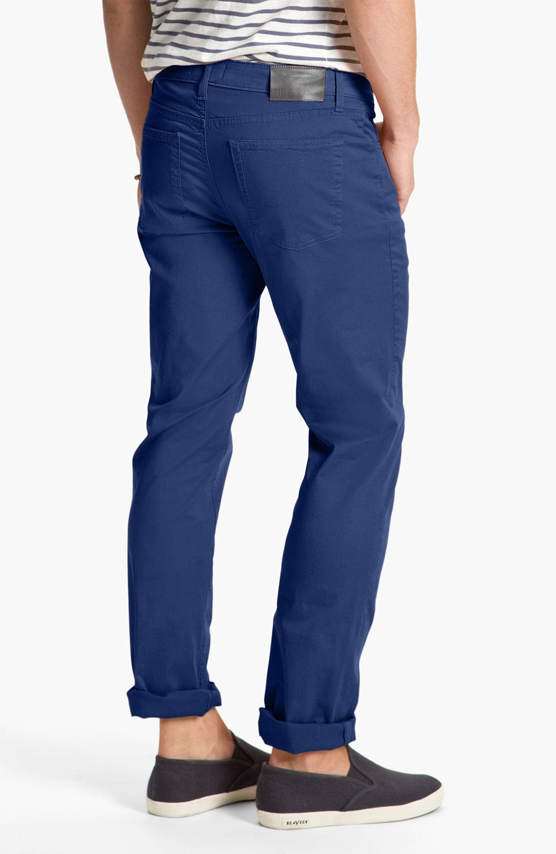 Alternate Image 1 Selected - PAIGE 'Normandie' Slim Straight Leg Pants