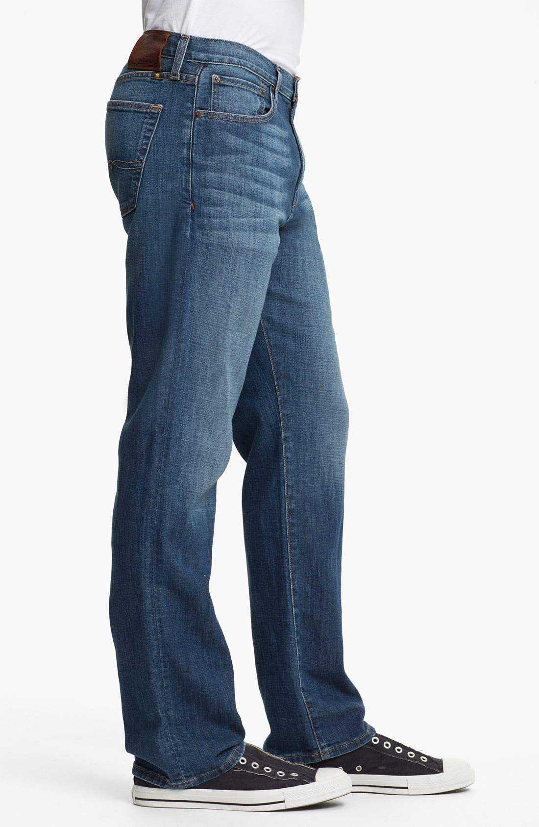 Alternate Image 3  - Lucky Brand '329 Classic' Straight Leg Jeans (Zenith Point)