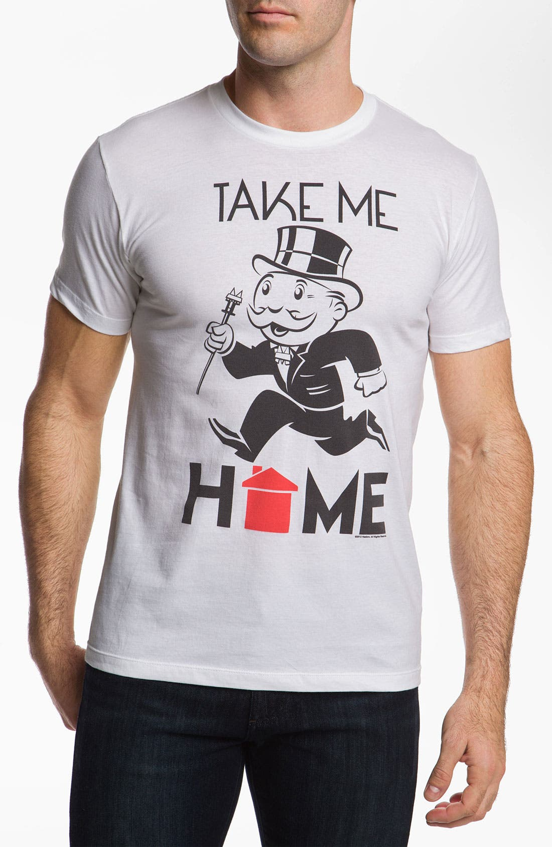 Alternate Image 1 Selected - Topless 'Take Me Home' Graphic T-Shirt