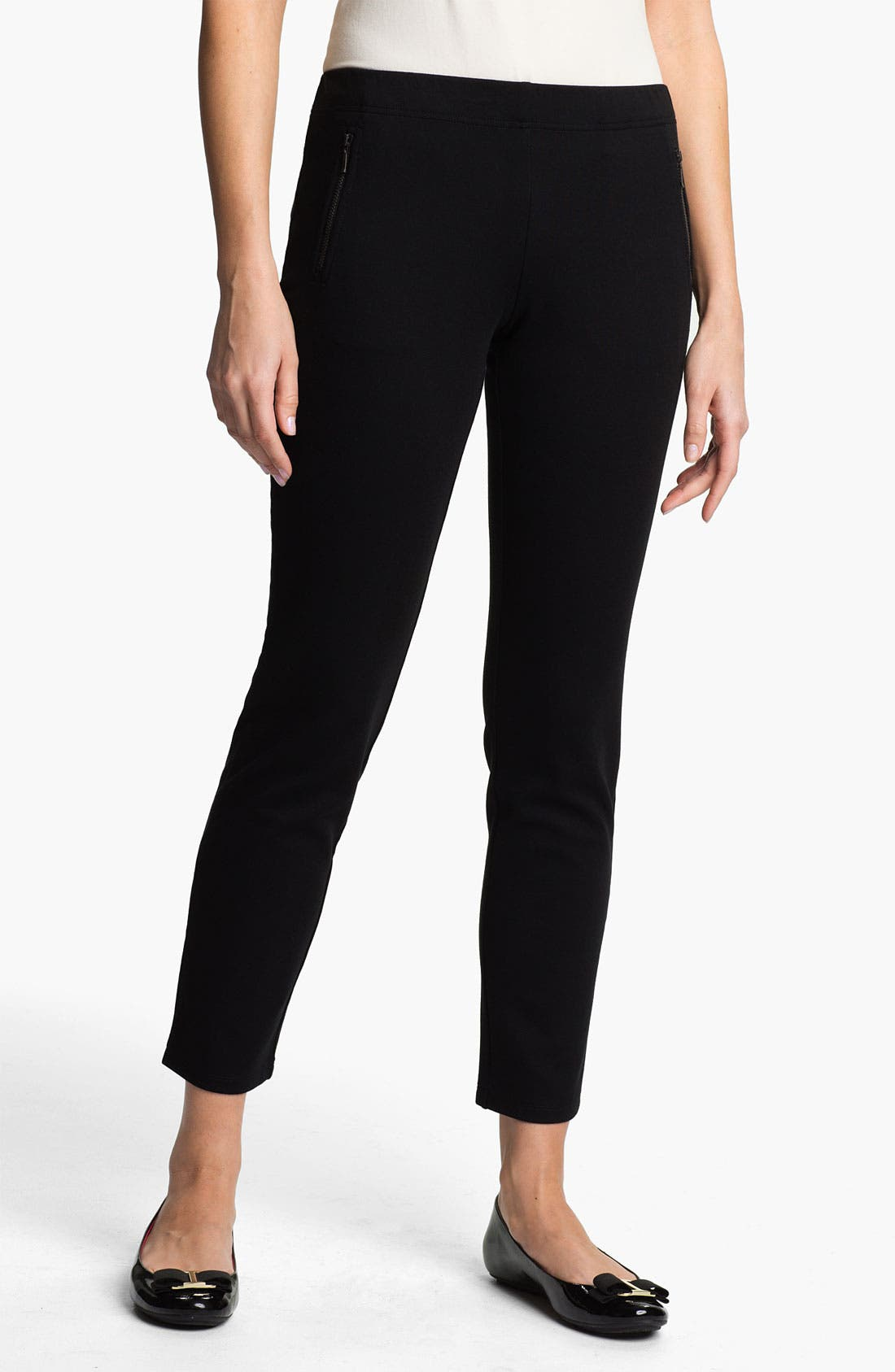 Main Image - Eileen Fisher Ankle Pants (Online Exclusive)