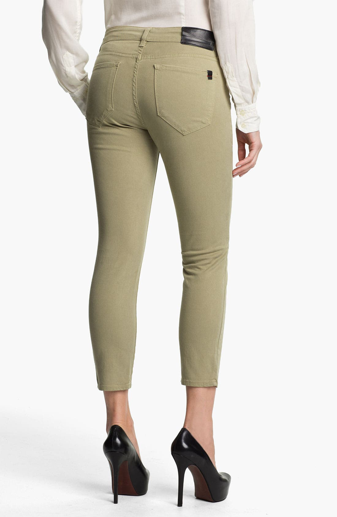 Alternate Image 2  - !iT Collective Curvy Fit Crop Skinny Leg Jeans