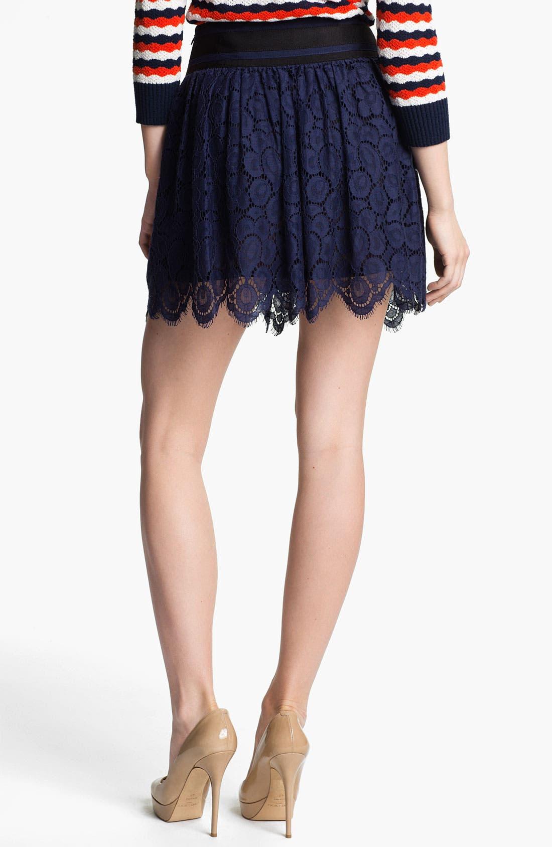 Alternate Image 2  - Milly Lace Miniskirt