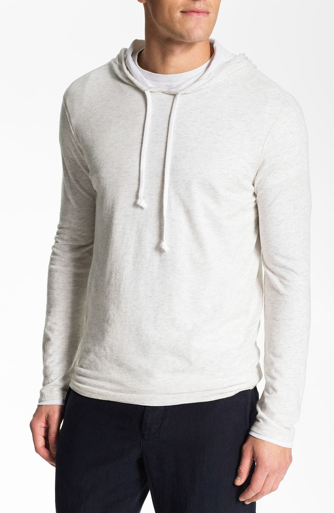 Alternate Image 1 Selected - Vince Double Layer Hoodie