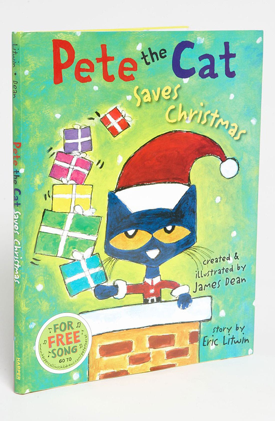 Alternate Image 1 Selected - James Dean & Eric Litwin 'Pete the Cat Saves Christmas' Story Book
