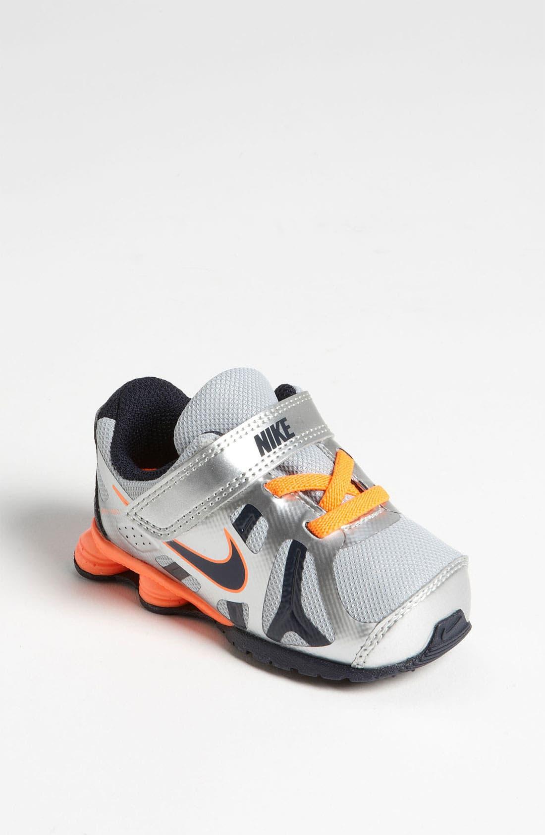 Alternate Image 1 Selected - Nike 'Shox Turbo 13' Running Shoe (Baby, Walker & Toddler)