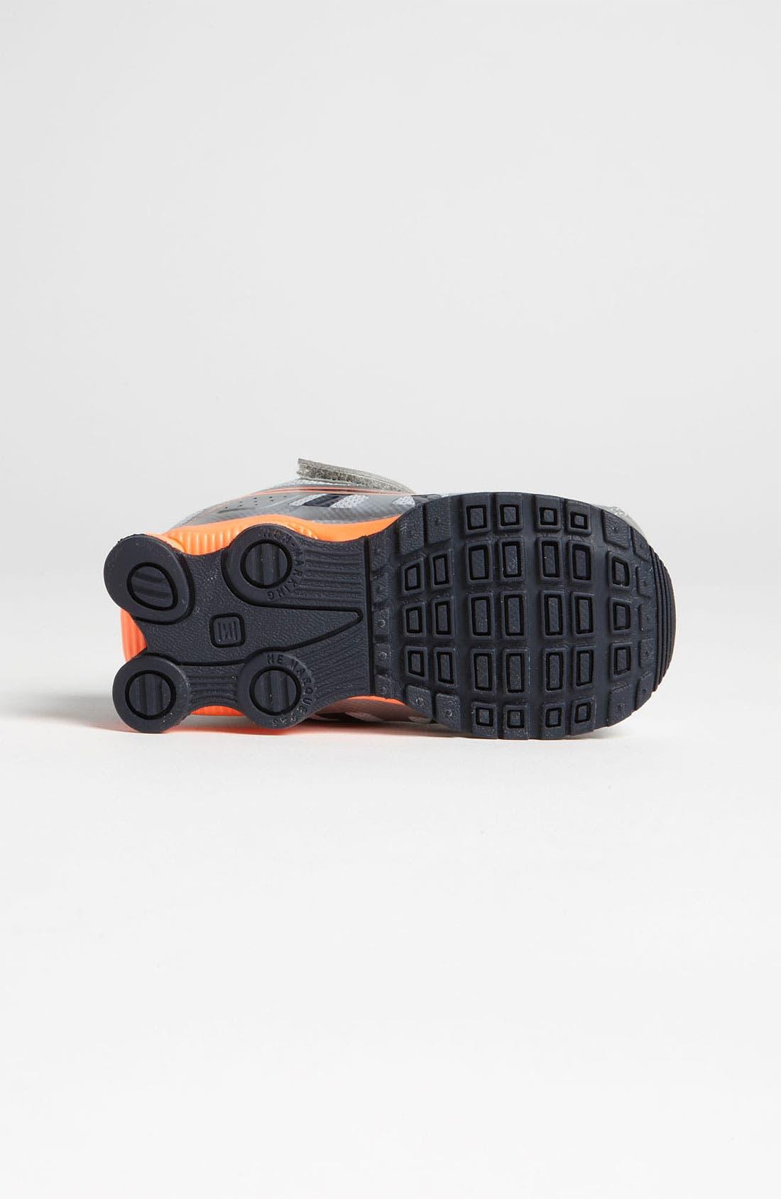 Alternate Image 4  - Nike 'Shox Turbo 13' Running Shoe (Baby, Walker & Toddler)