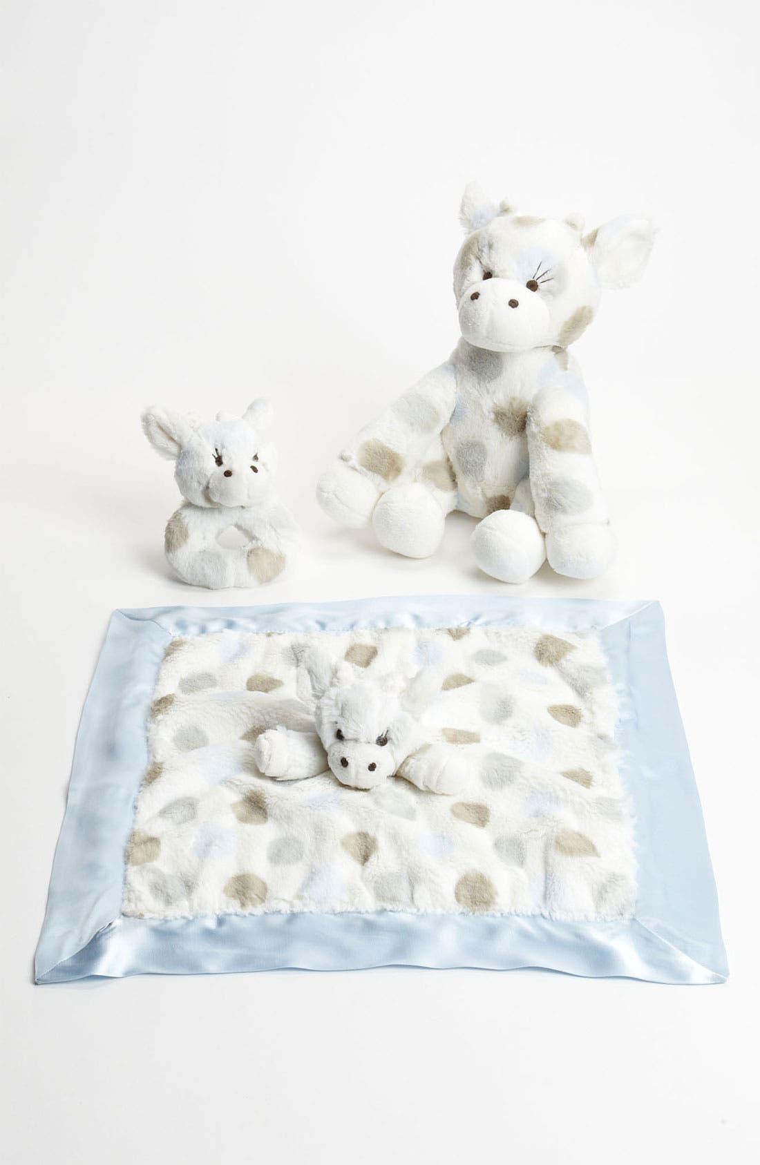 Alternate Image 2  - Little Giraffe 'Bundled Love' Stuffed Animal & Blanket